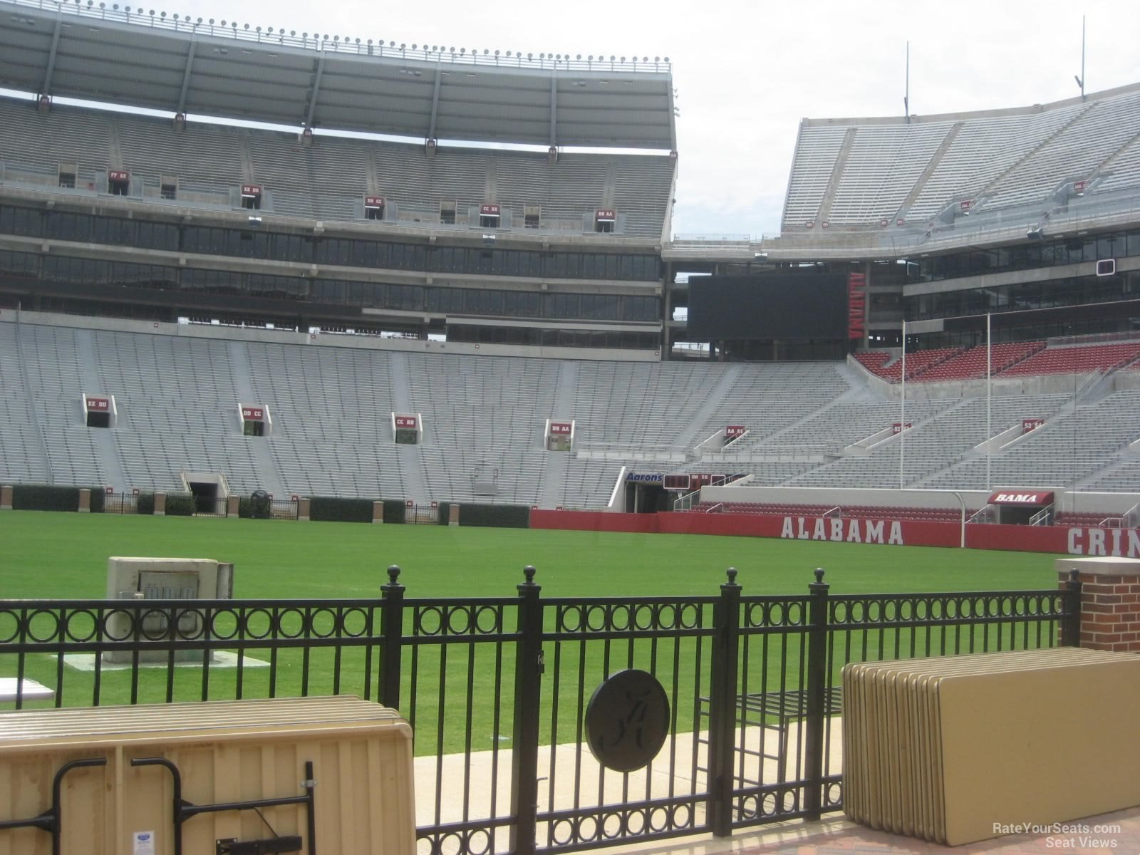 Bryant Denny Stadium Section G Rateyourseats Com
