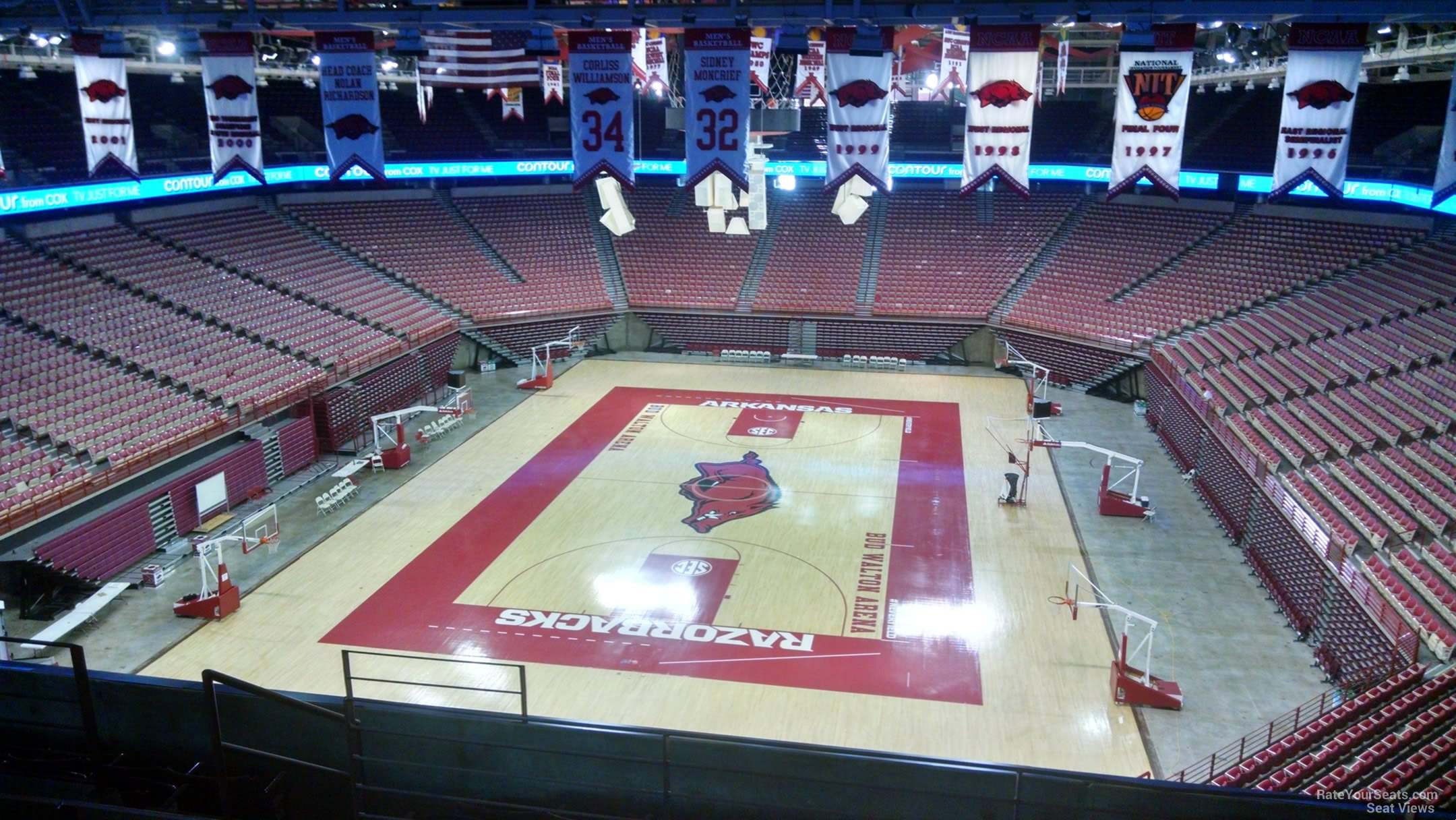 Bud Walton Arena Section 226 Rateyourseatscom