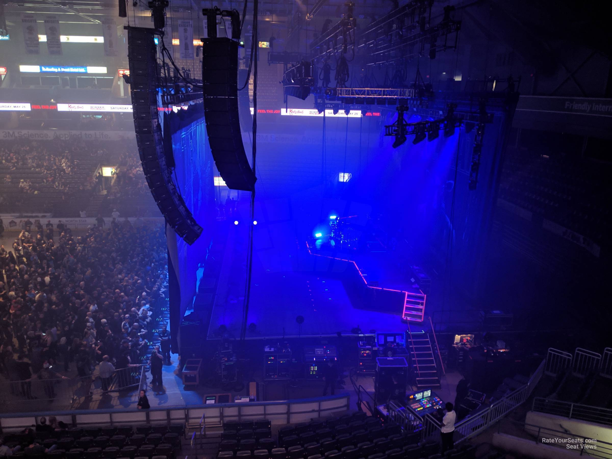 Section 302 At Budweiser Gardens Rateyourseats Com