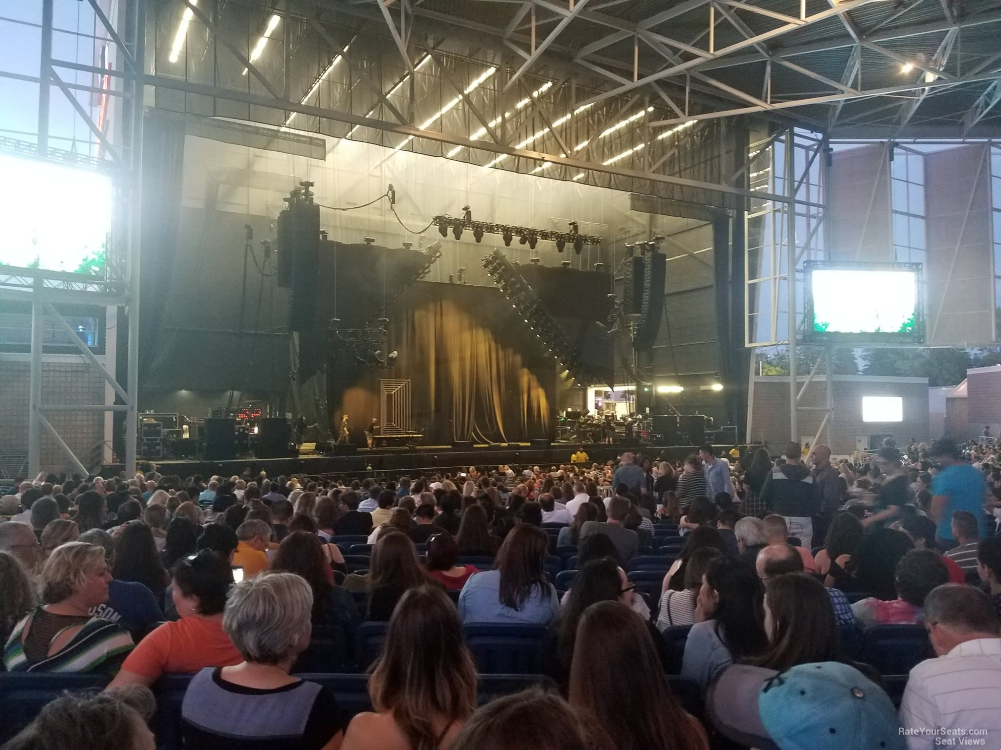 Budweiser Stage Section 203 - RateYourSeats.com