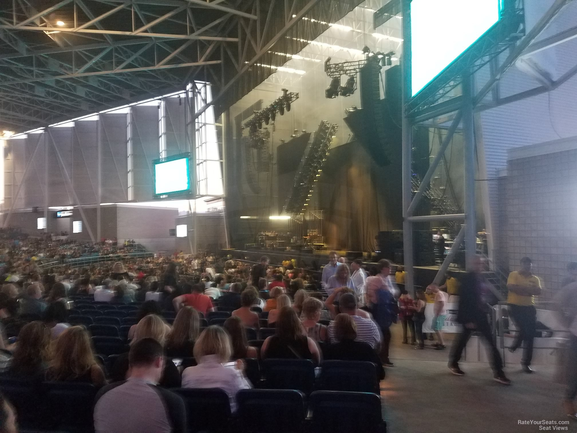 Budweiser Stage Section 301 Rateyourseats Com