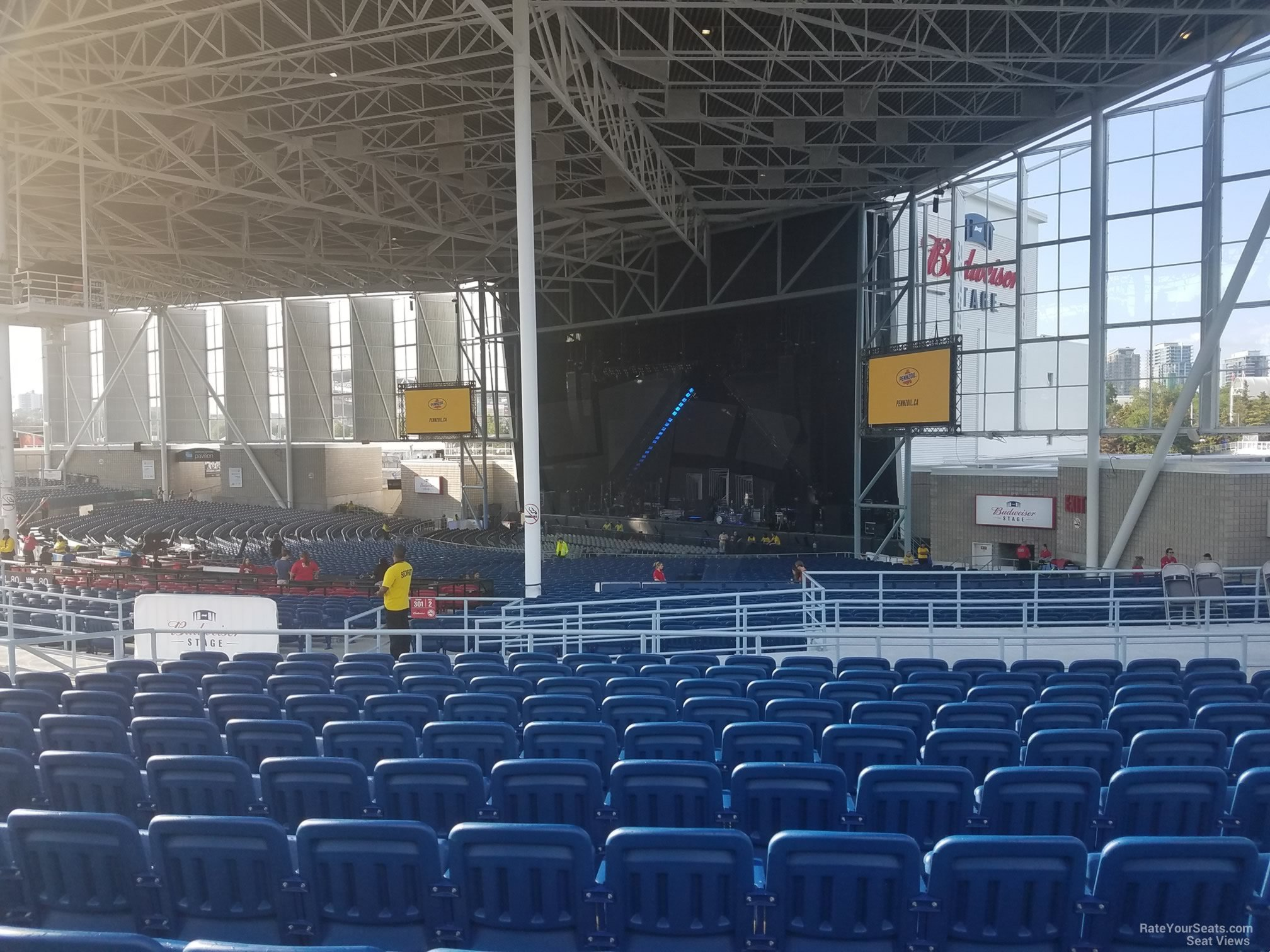 Budweiser Stage Section 402 Rateyourseats Com