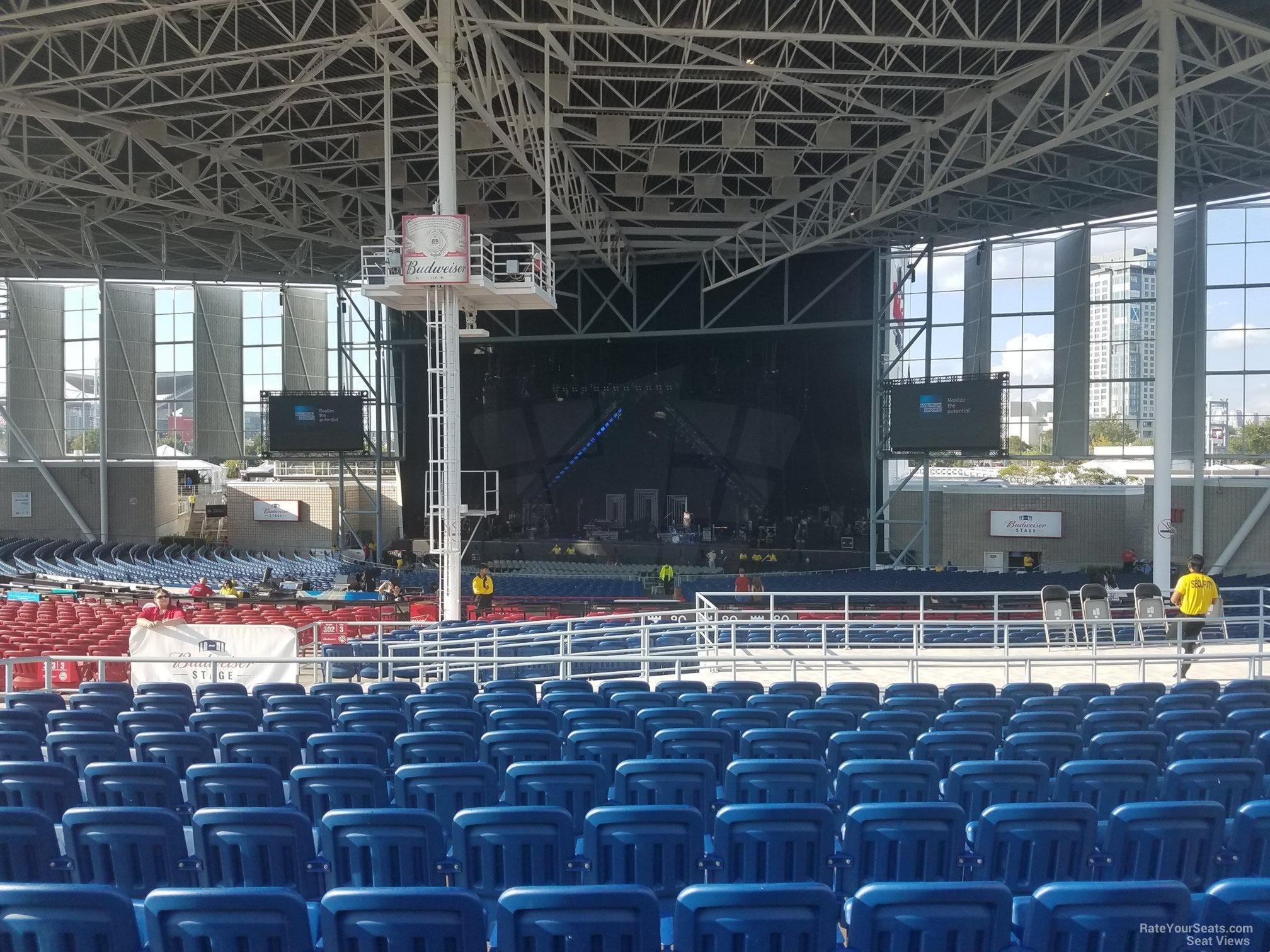 Molson Amphitheatre Section 301 Budweiser Stage Toronto