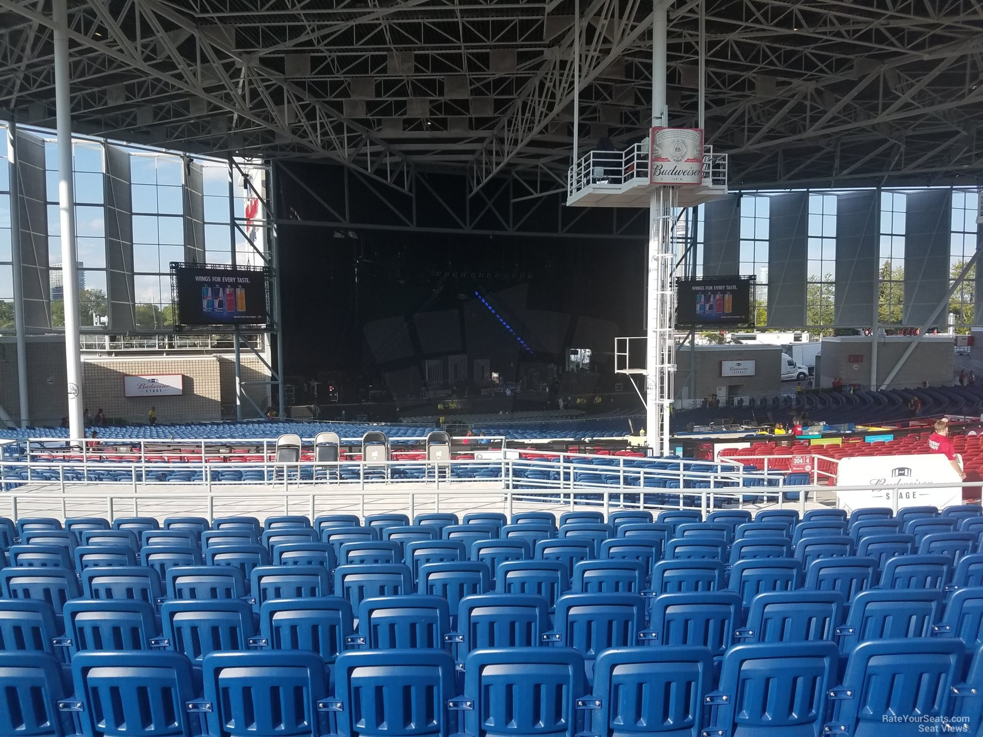 Budweiser Stage Section 407 Rateyourseats Com