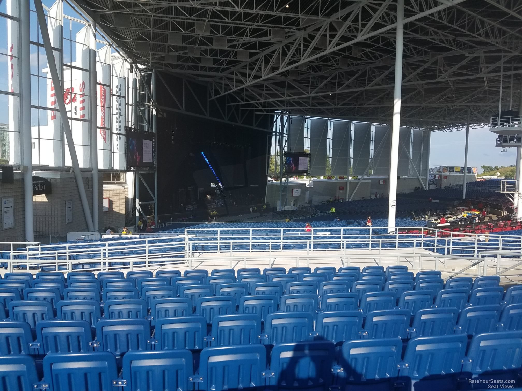 Budweiser Stage Section 410 Rateyourseats Com