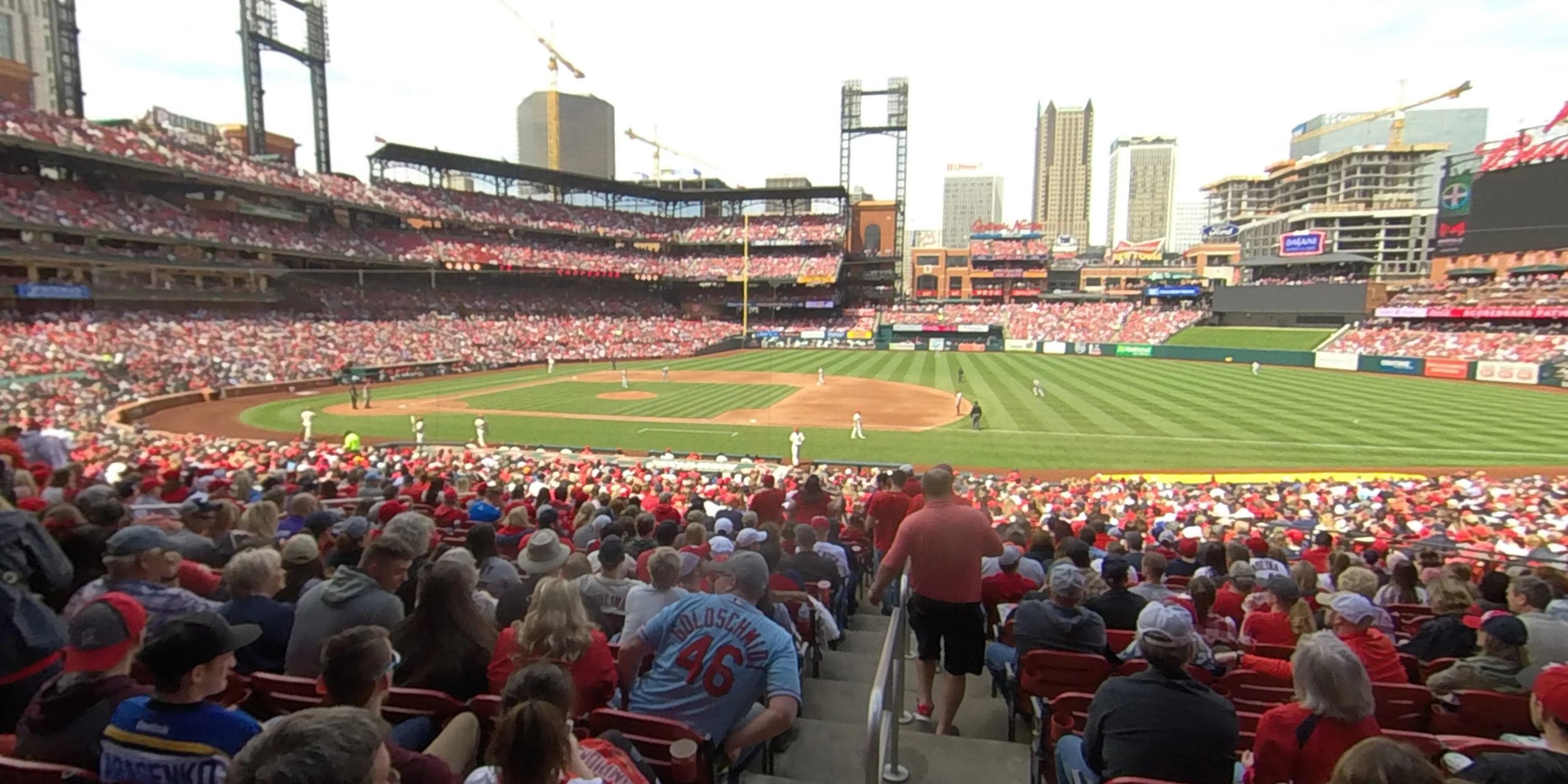 121c86b0 Busch Stadium Section 142 - RateYourSeats.com