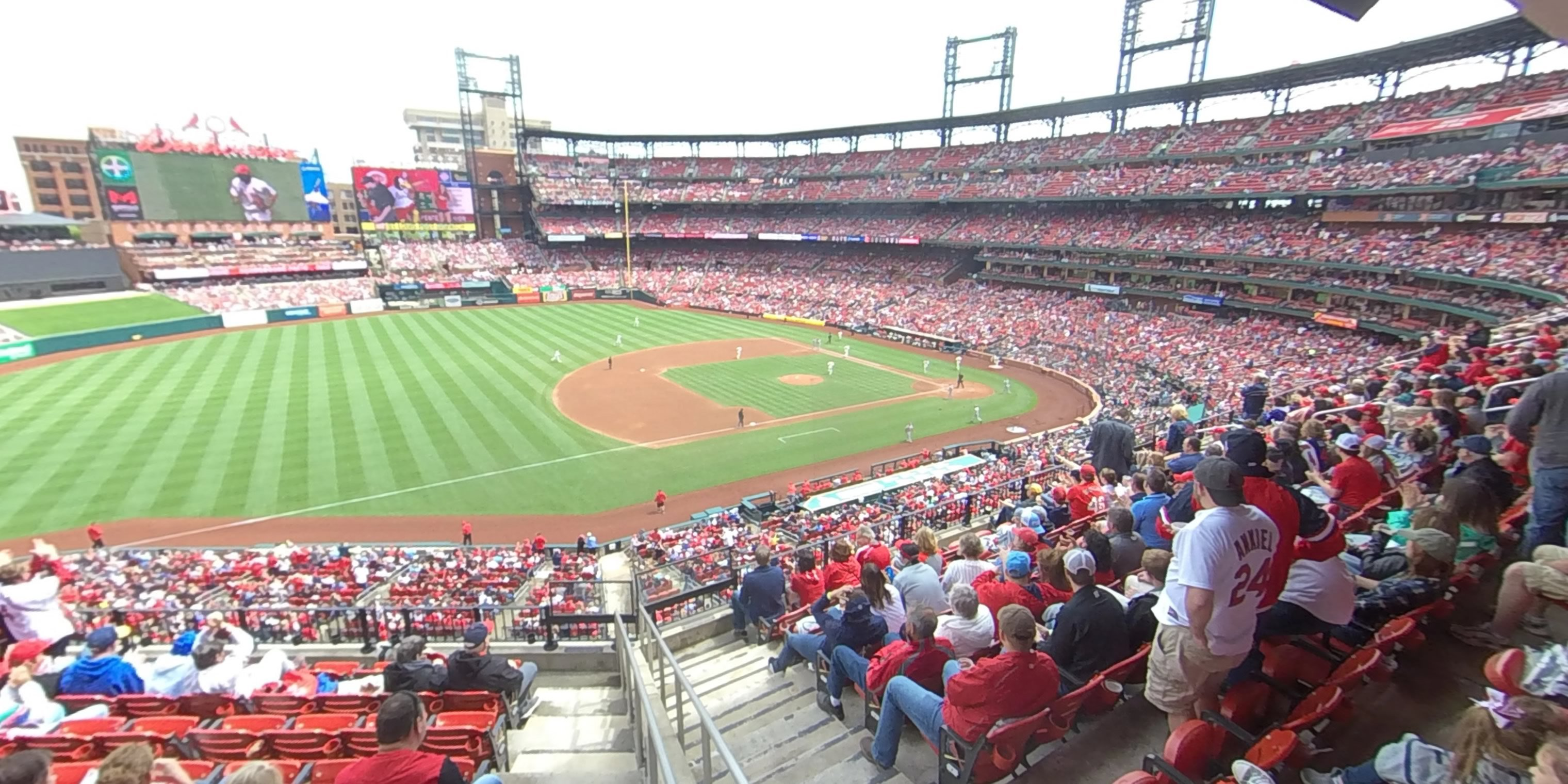 360° Photo From Busch Stadium Section 259
