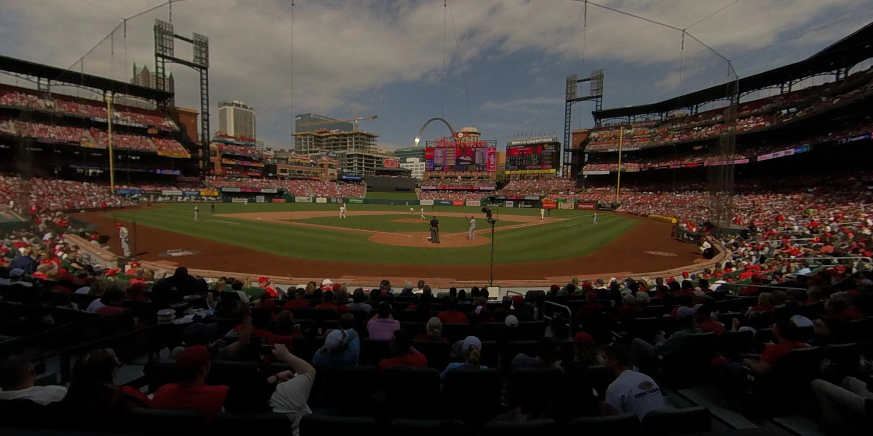 629dcec4 Busch Stadium Cardinals Club 5 - RateYourSeats.com