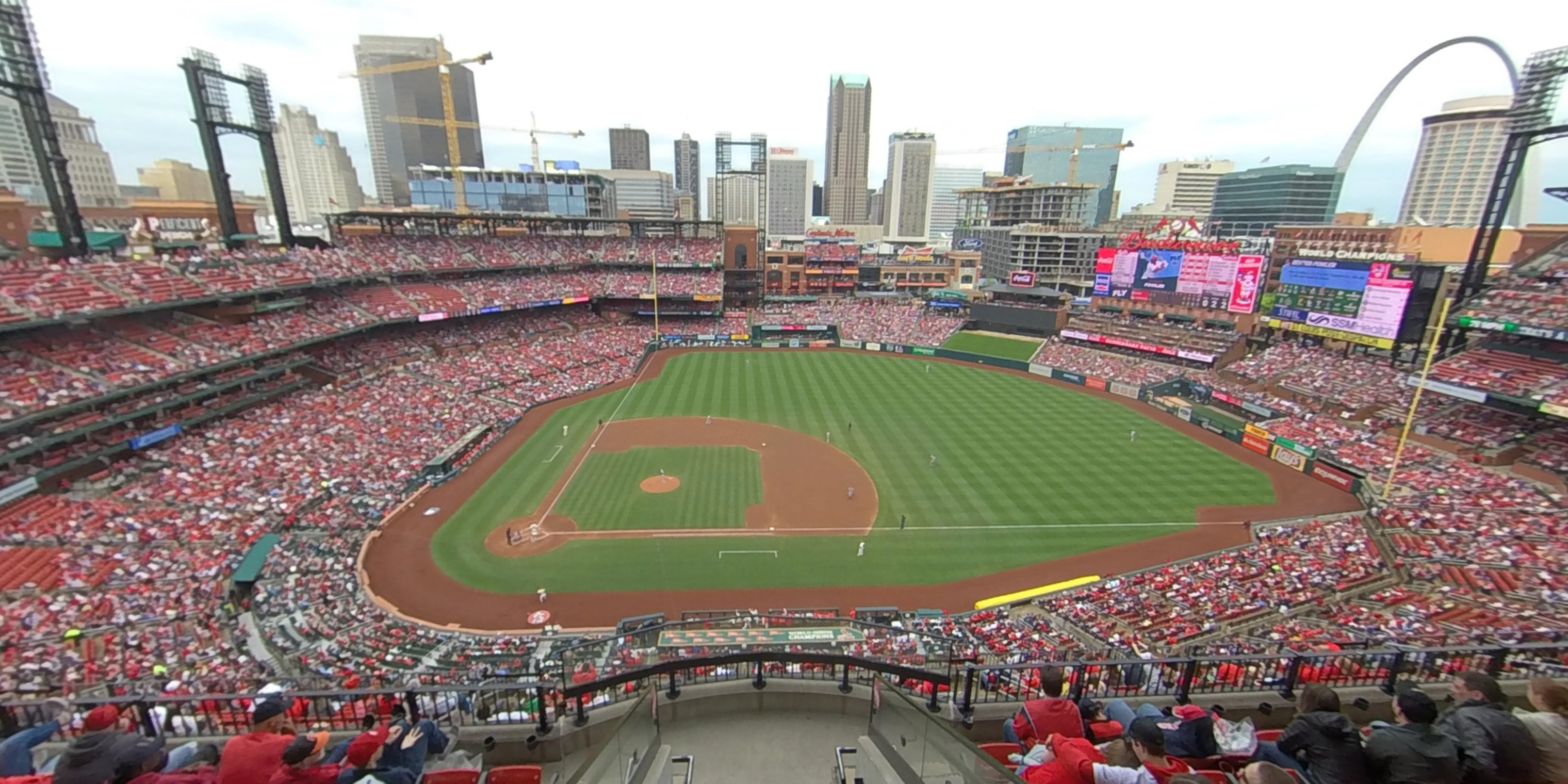 360° Photo From Busch Stadium Section 442