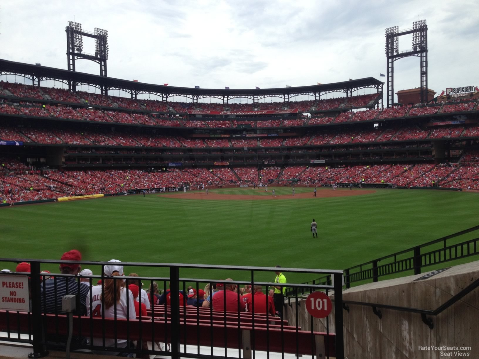 Busch Stadium Section 101 - RateYourSeats.com
