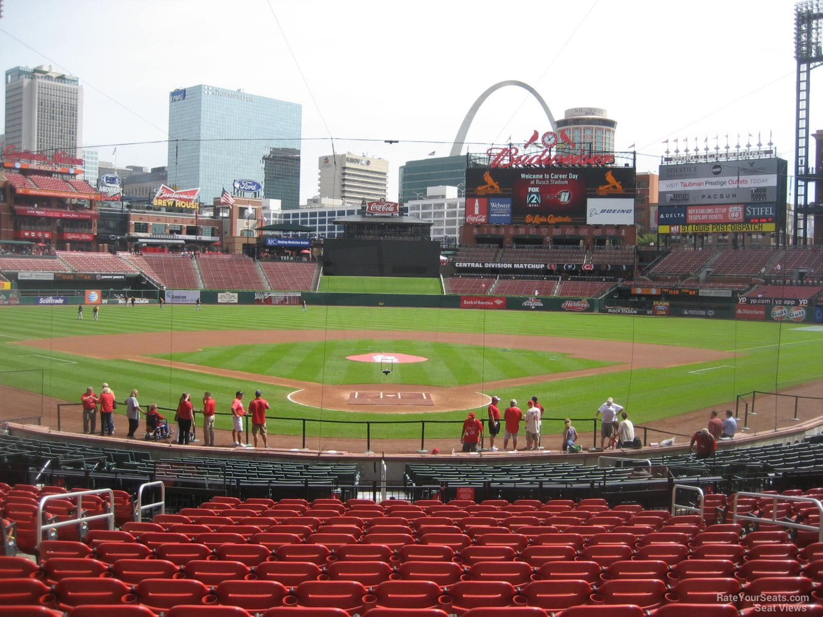 Busch Stadium Section 150 - RateYourSeats.com