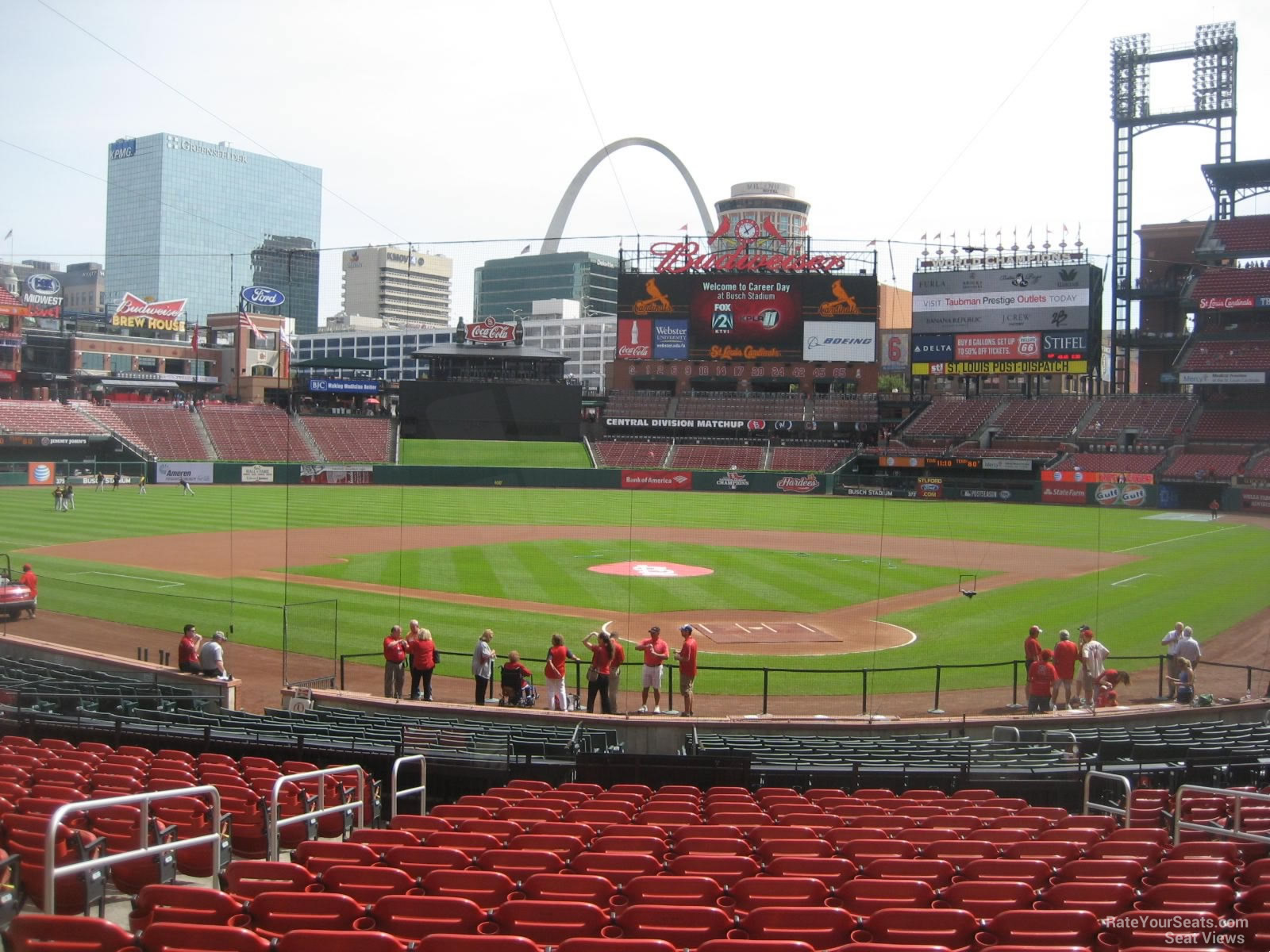 Busch Stadium Section 151 - RateYourSeats.com