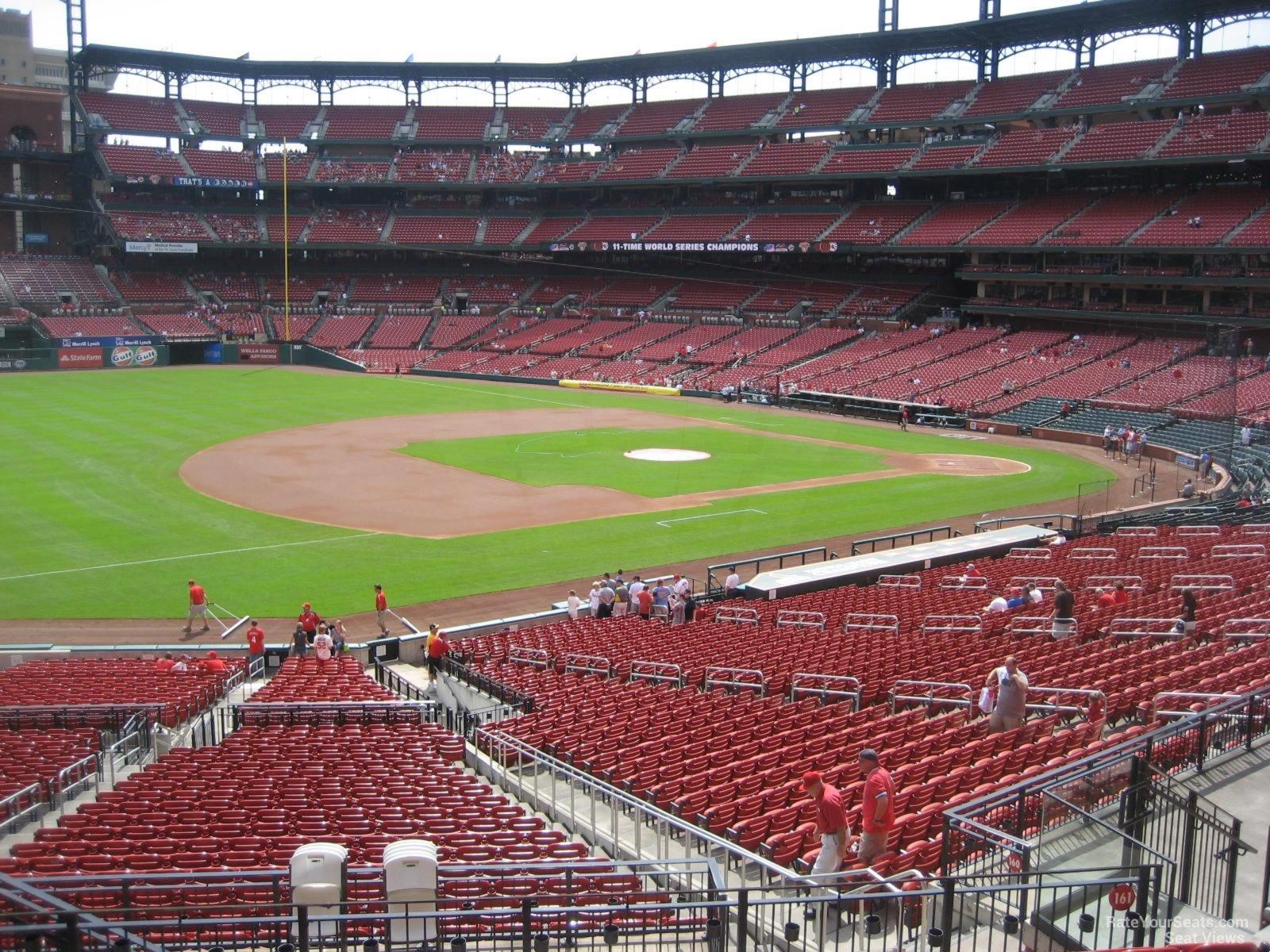 Busch Stadium Section 161 - RateYourSeats.com