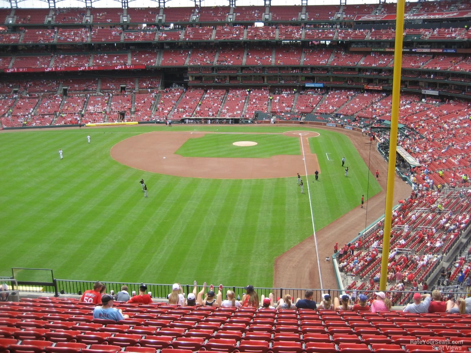 Busch Stadium Section 271 - RateYourSeats.com