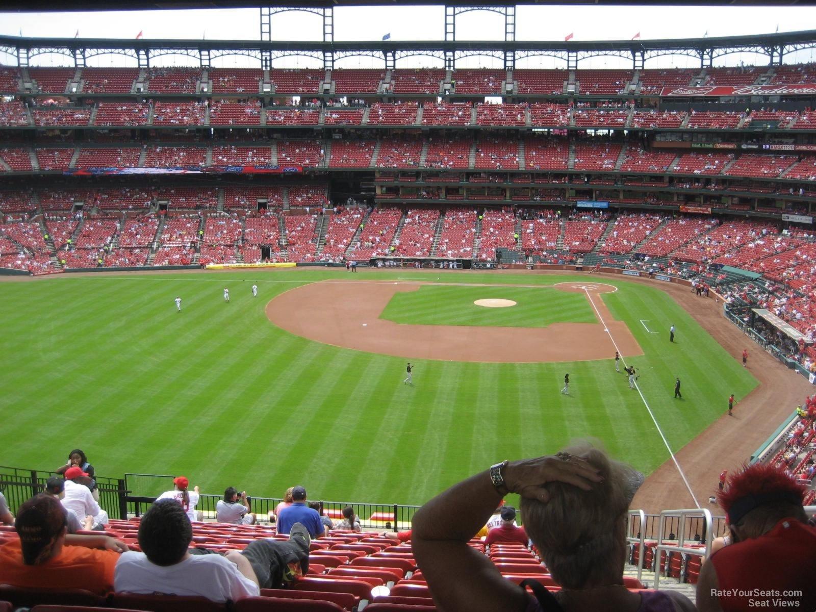 Loge Outfield Busch Stadium Baseball Seating