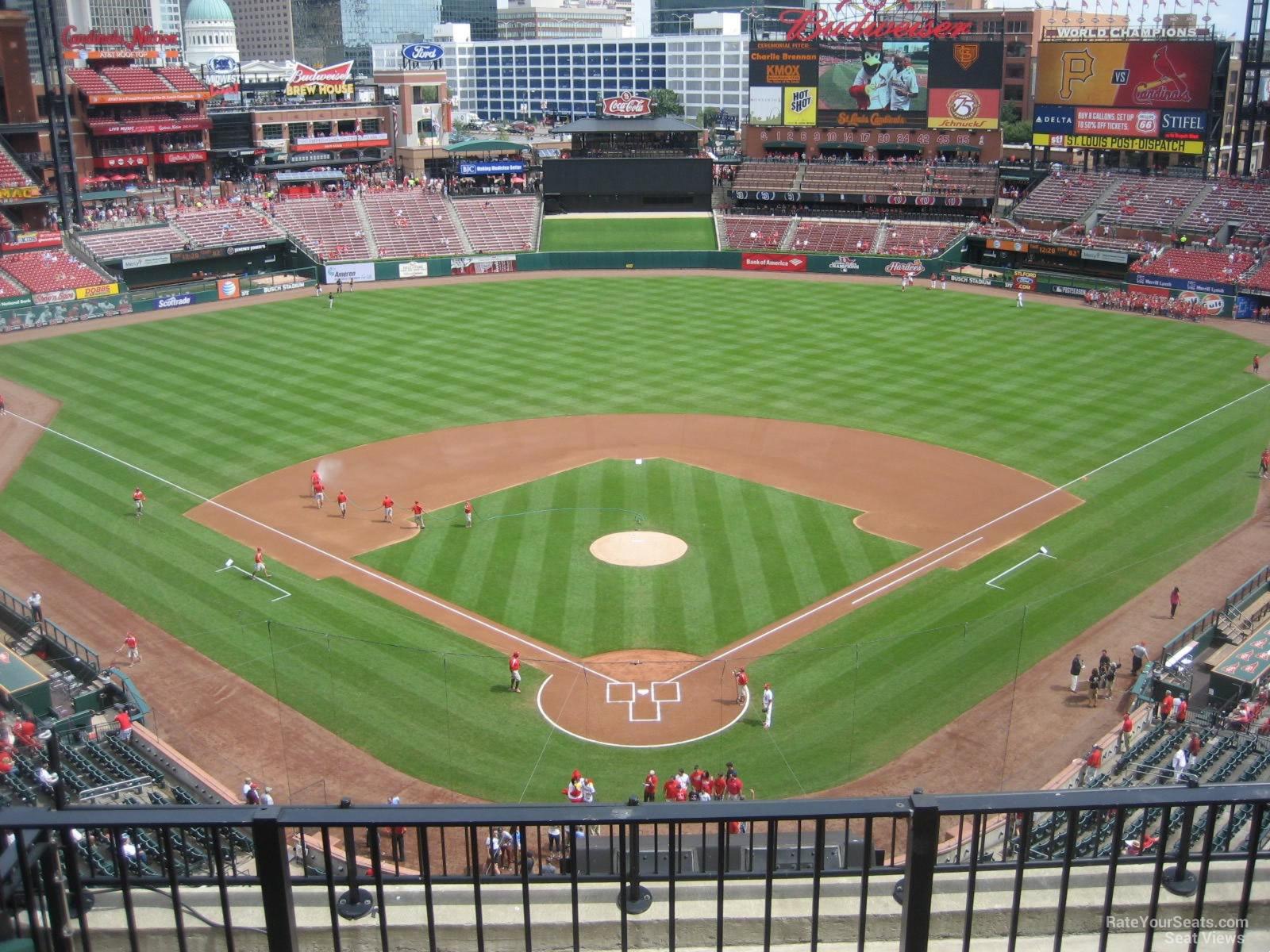 Busch Stadium Section 350 Rateyourseats Com