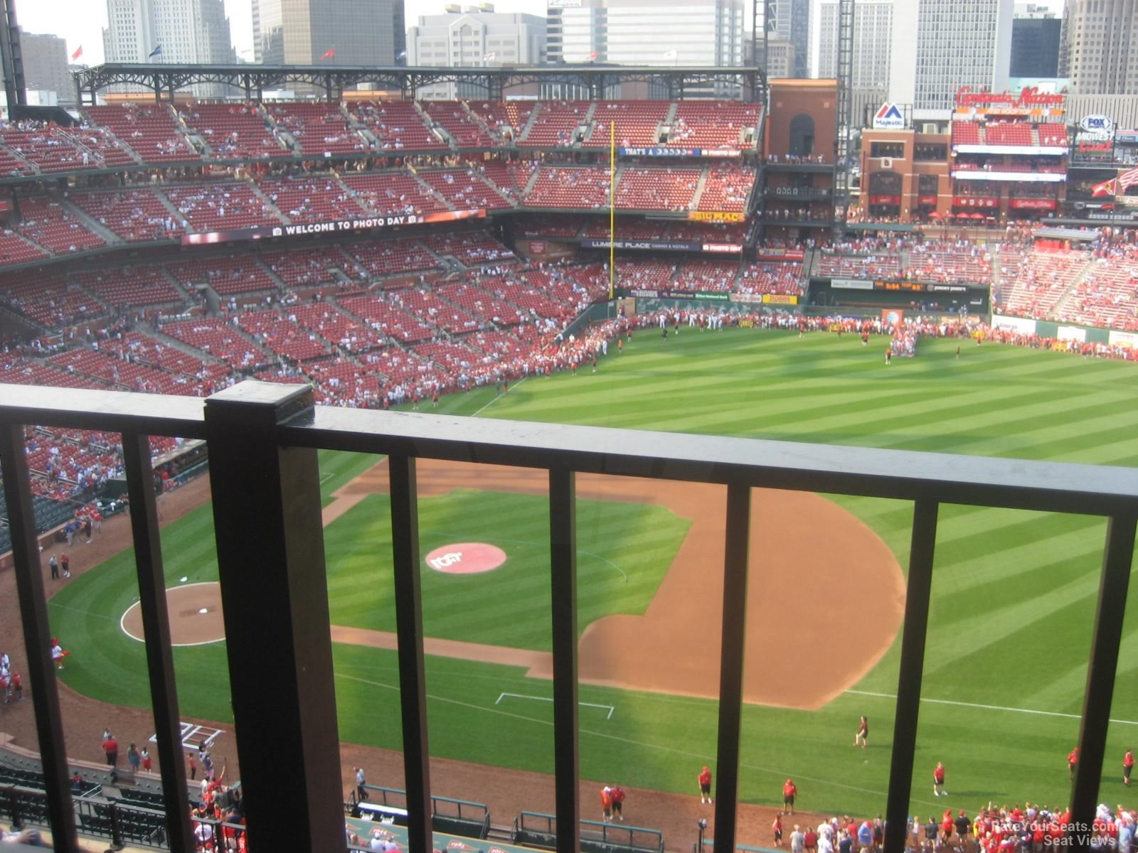 Busch Stadium Section 441 - RateYourSeats.com