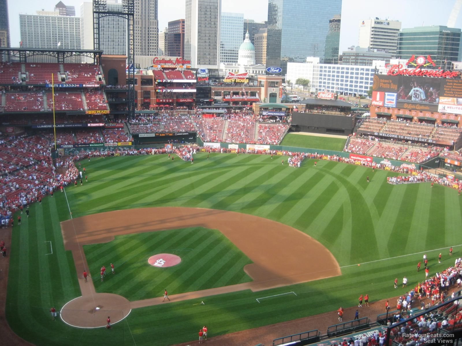 Busch Stadium Section 447 - RateYourSeats.com