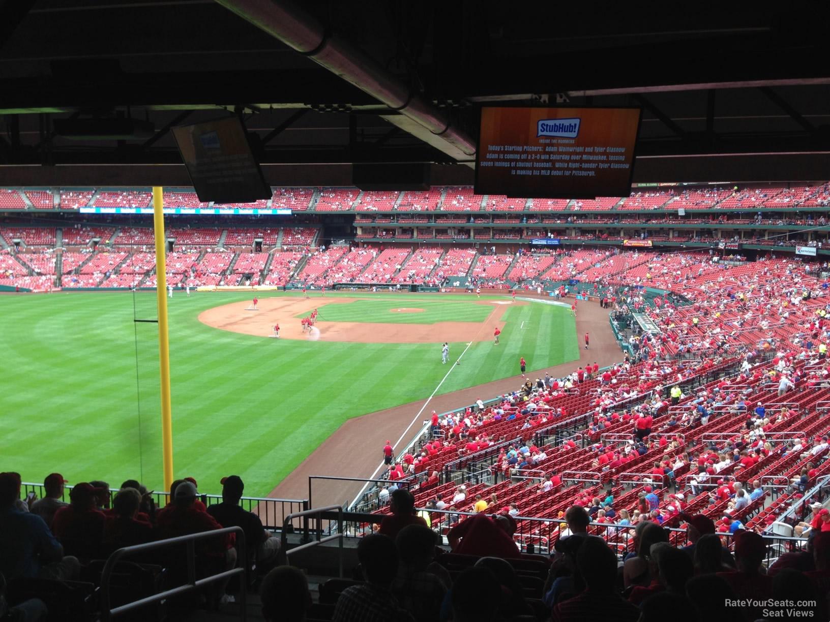 Field Level Outfield - Busch Stadium Baseball Seating ...