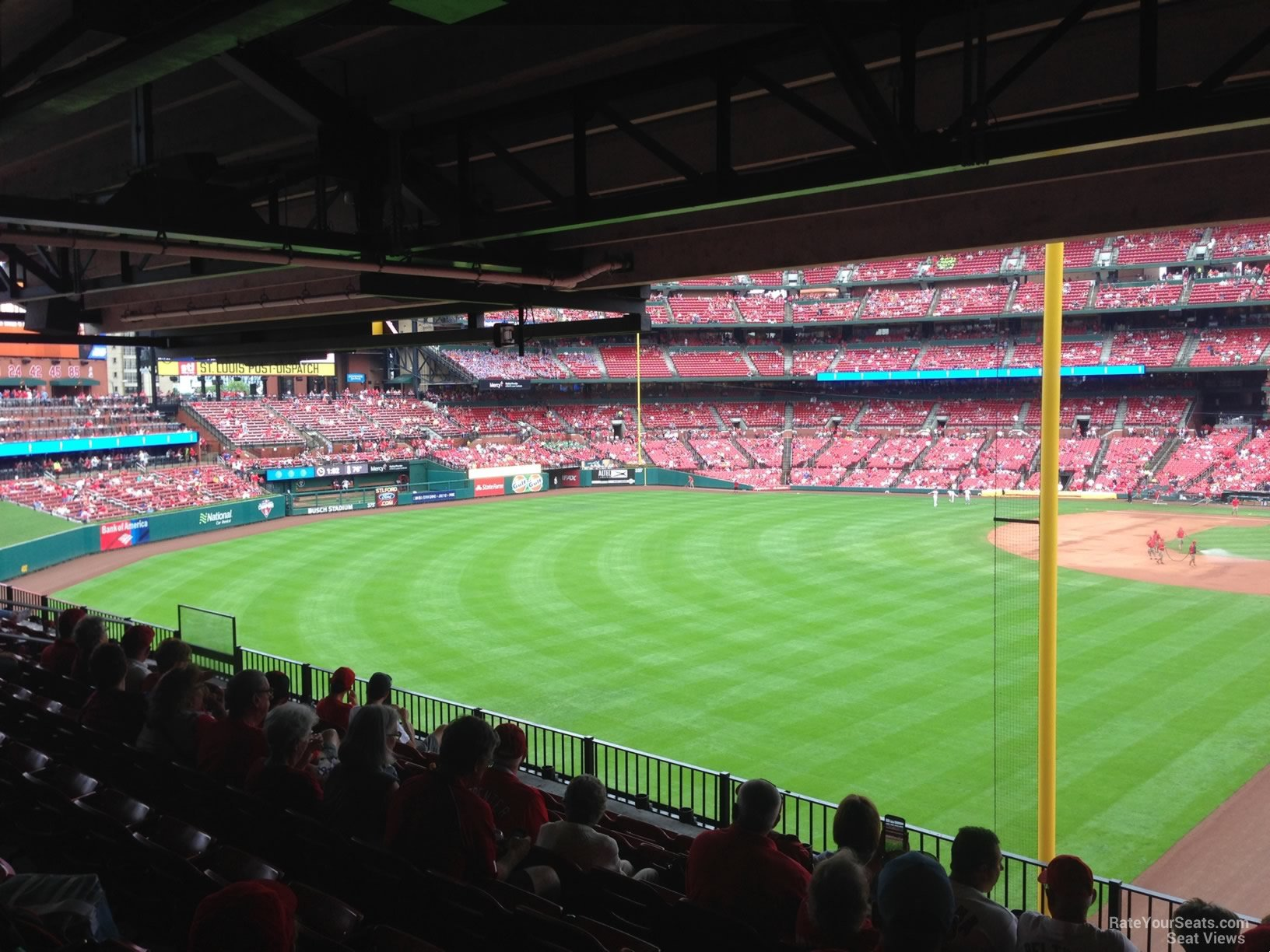 Seat View for Busch Stadium Section LP2, Row 8