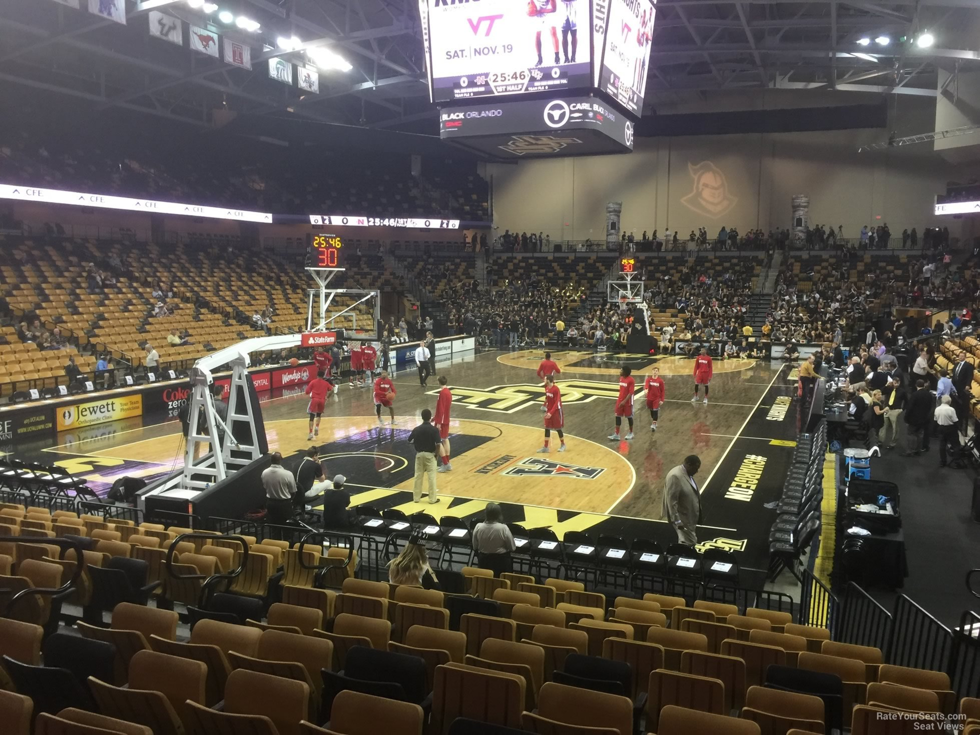 CFE: CFE Arena Section 101