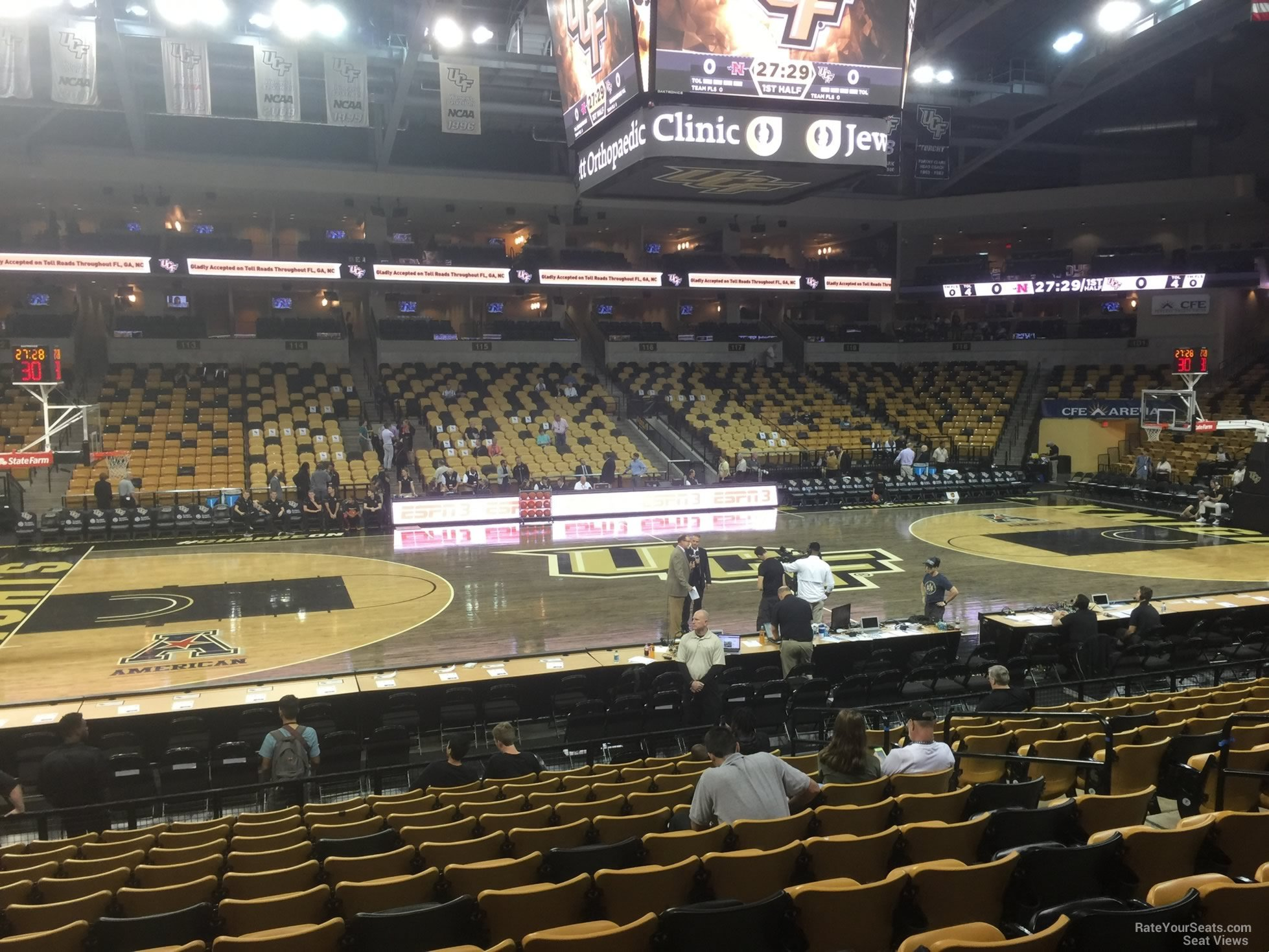CFE: CFE Arena Section 107