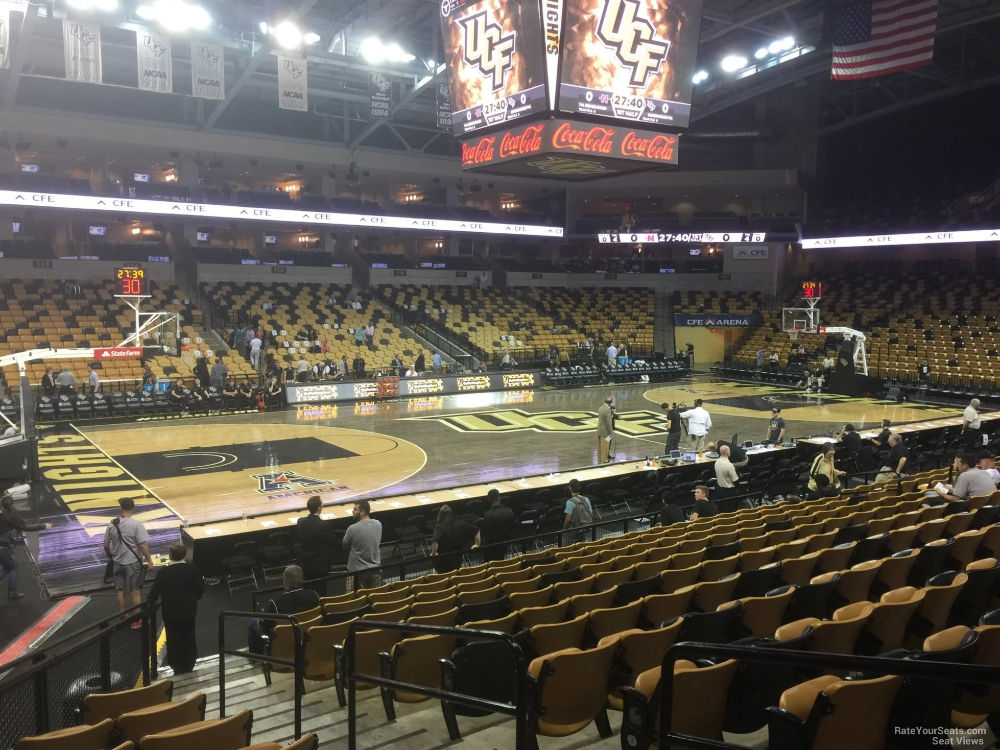 CFE: CFE Arena Section 108