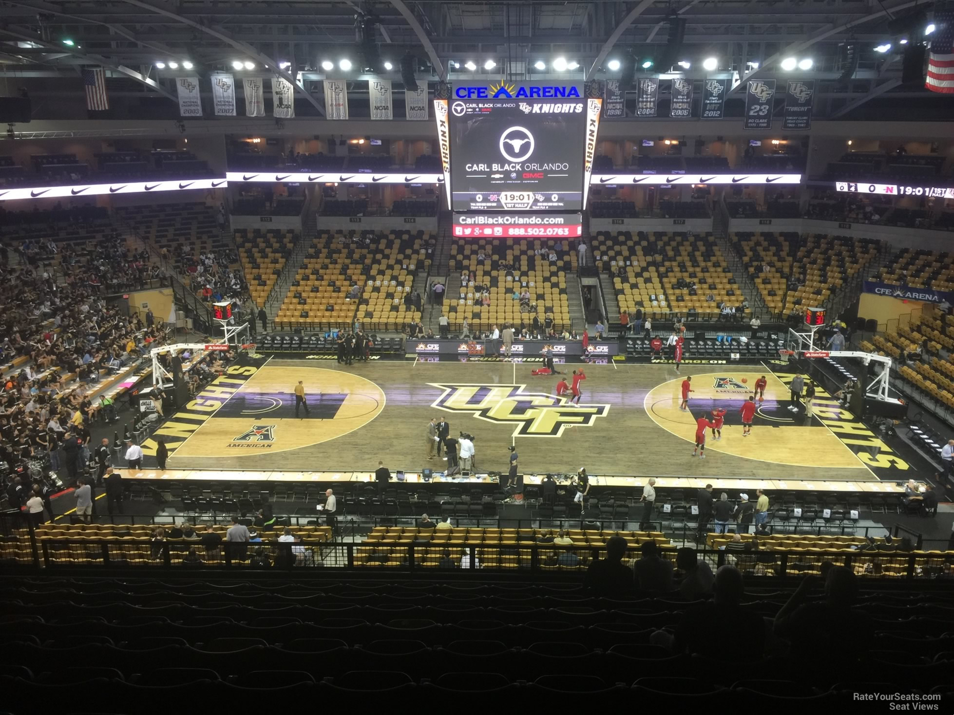 CFE: CFE Arena Section 208