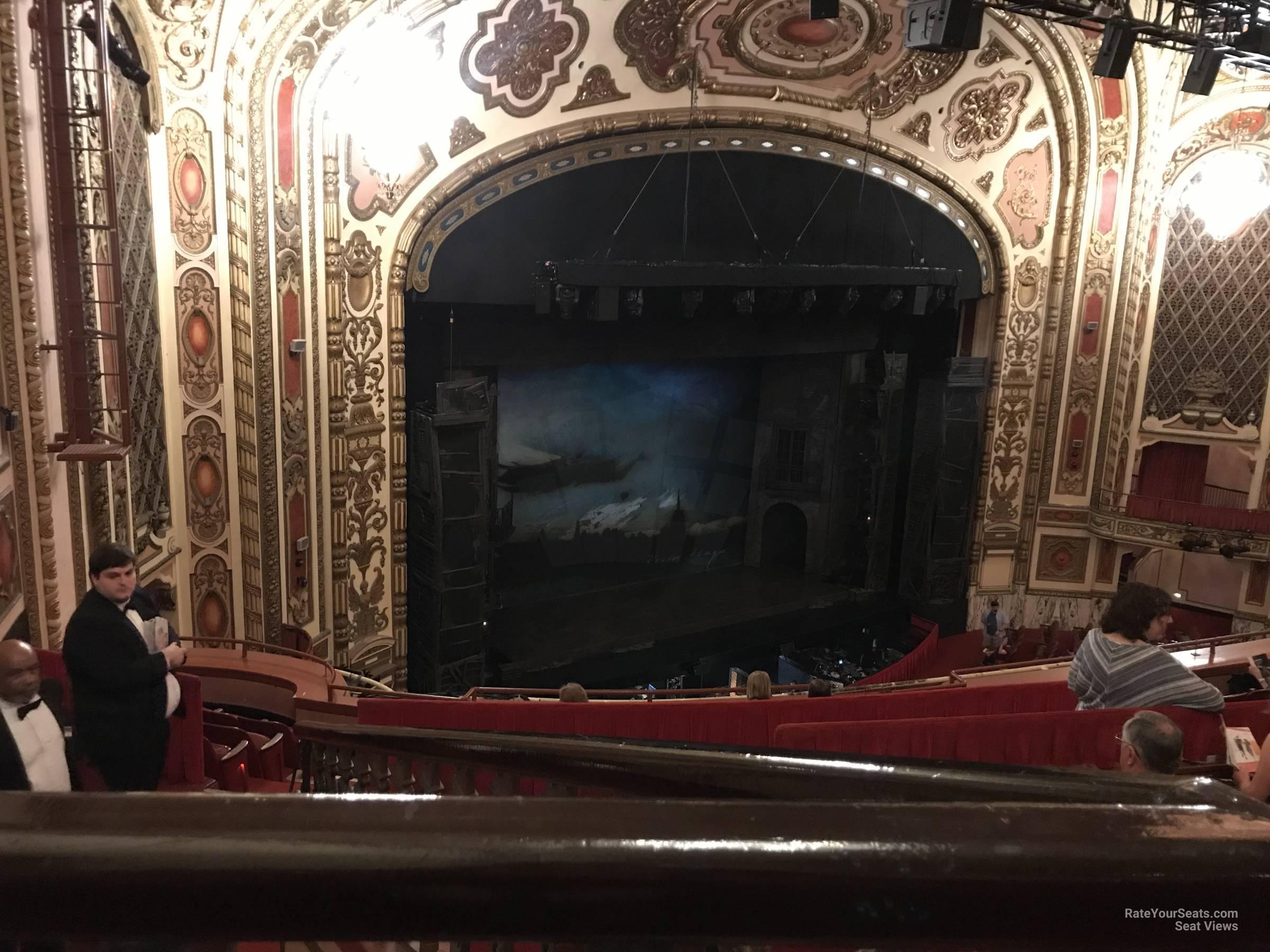 Cadillac Palace Theatre Balcony Far Left Rateyourseatscom