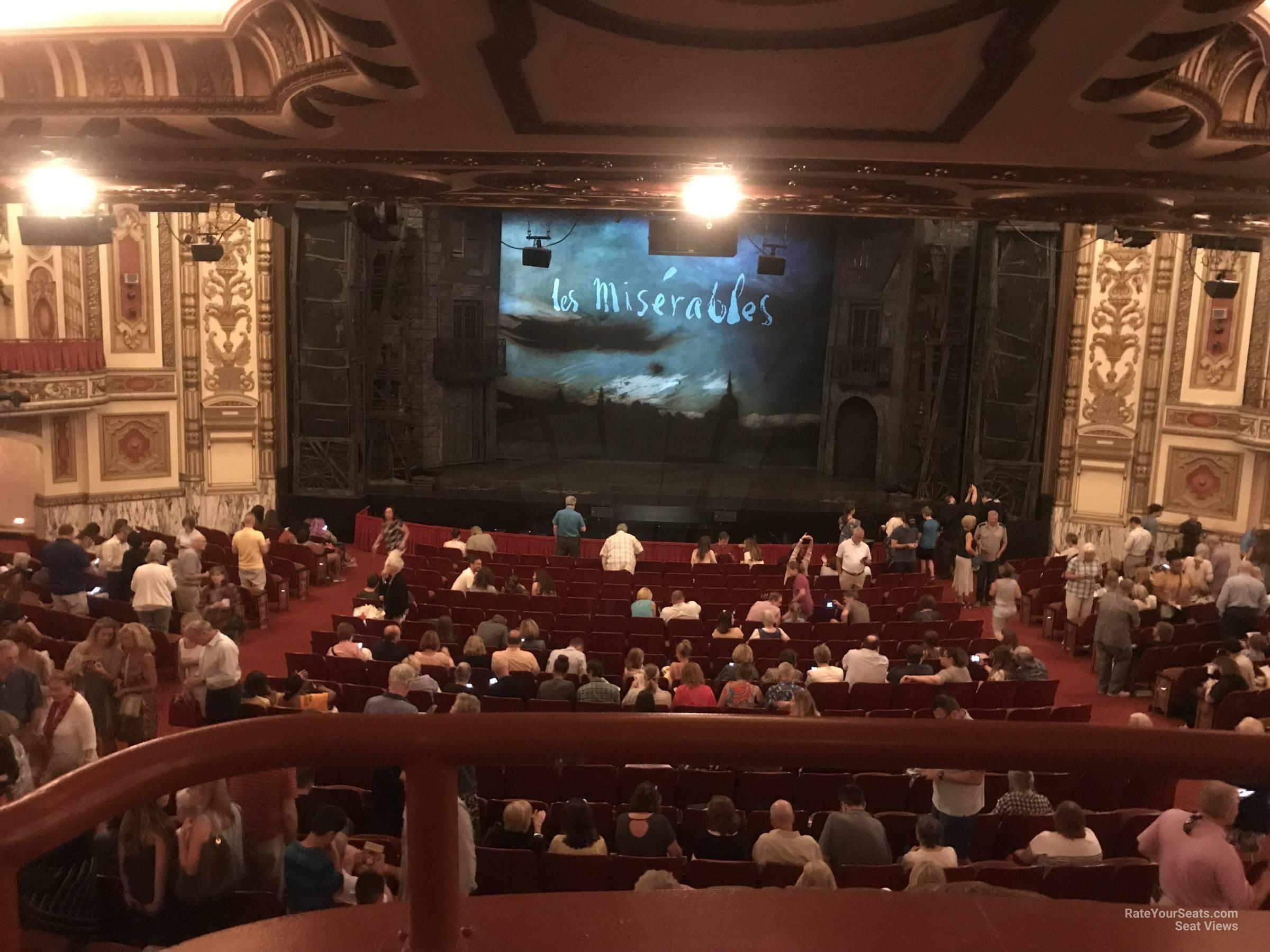 DRESS CIRCLE CENTER at Cadillac Palace Theatre ...