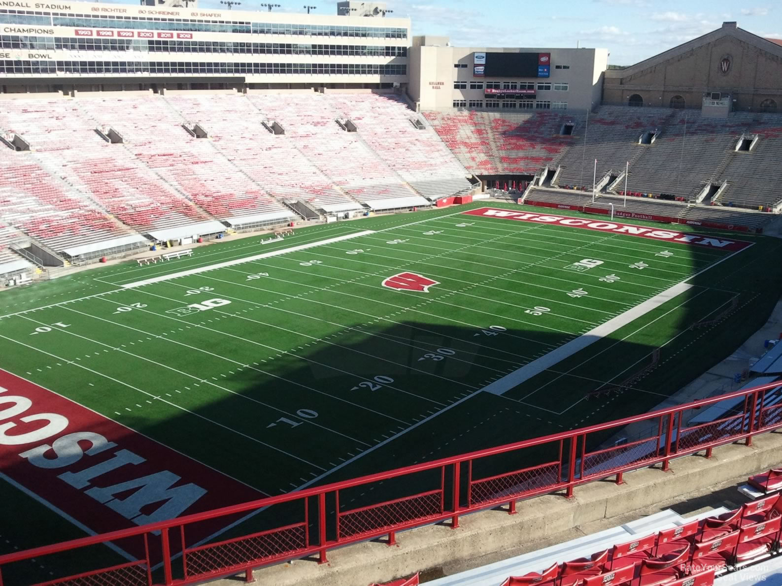 Seat View For Camp Randall Stadium Section Kk
