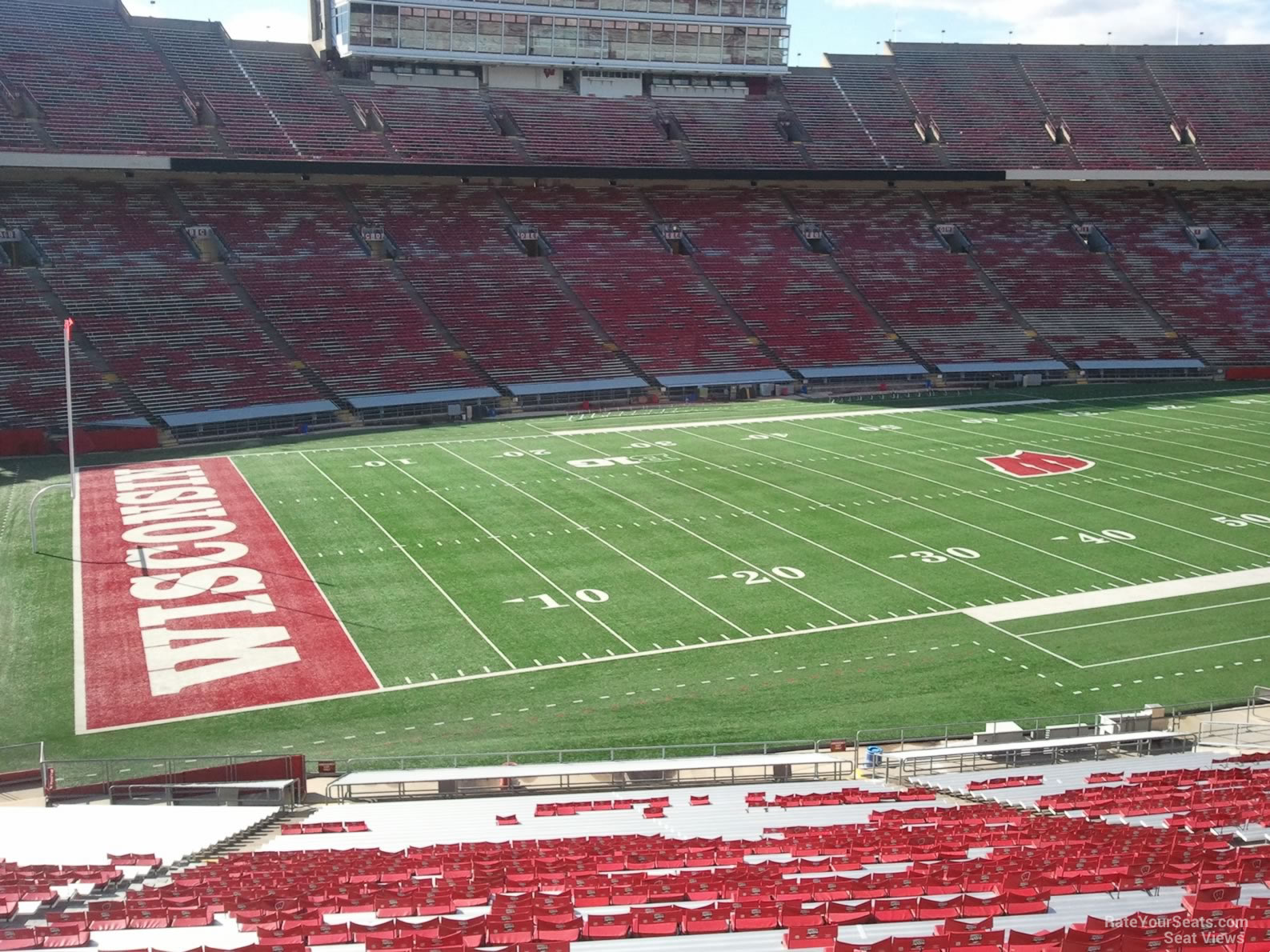 camp randall stadium section w. Black Bedroom Furniture Sets. Home Design Ideas