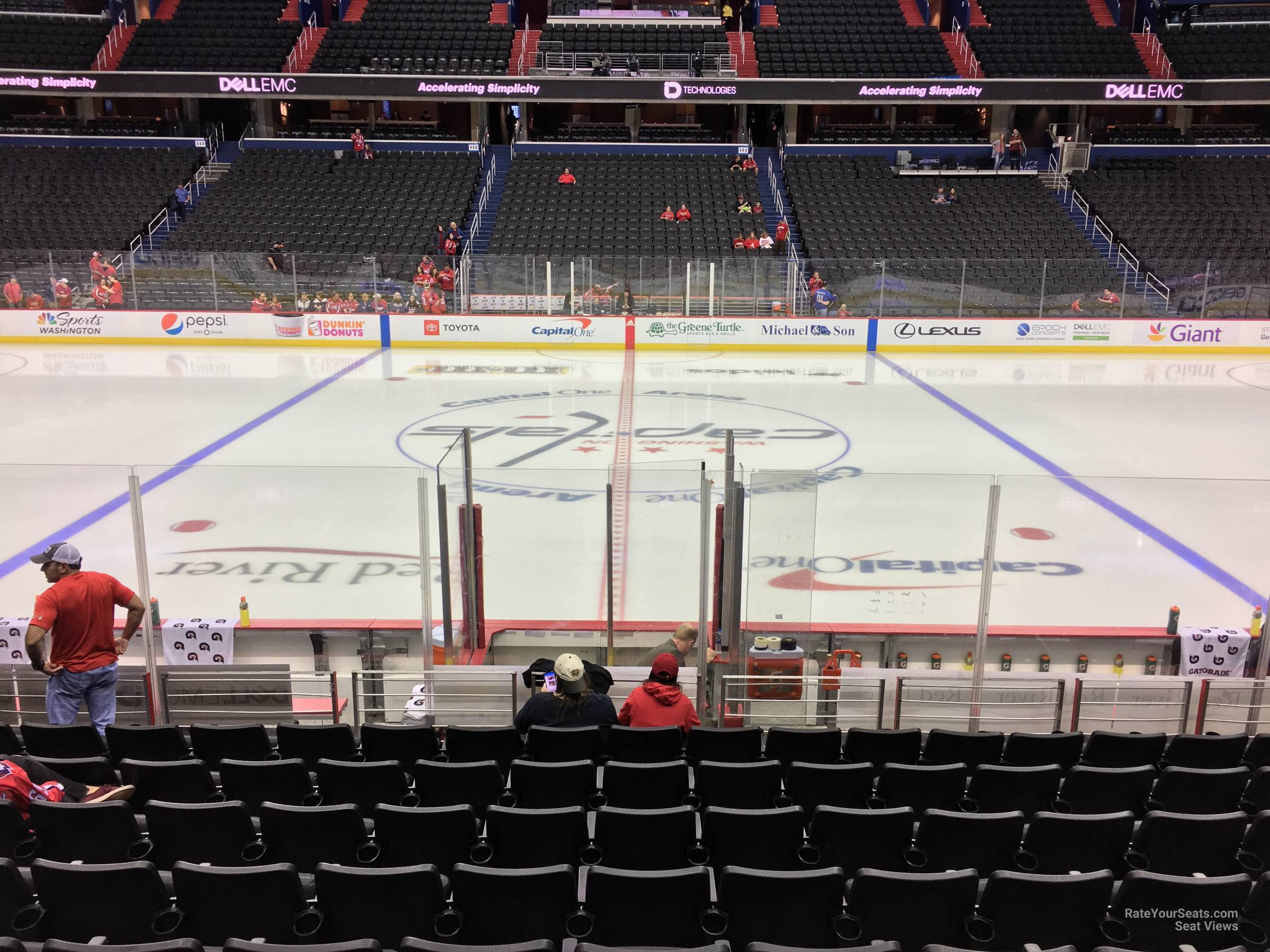 Section 100 seat view