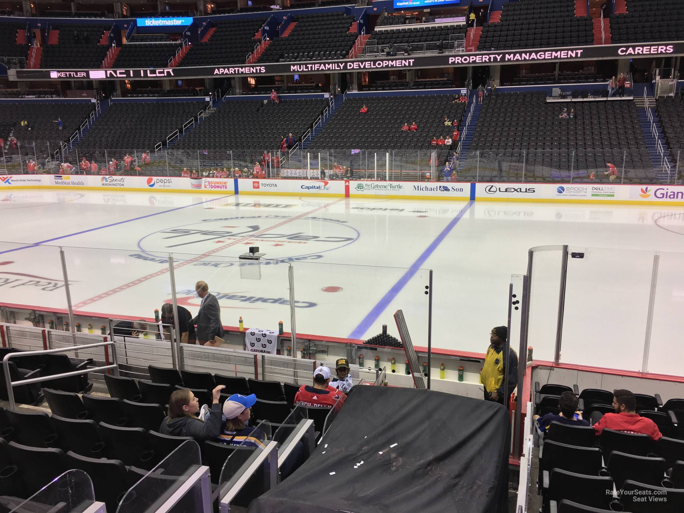 Washington Capitals Seat View For Capital One Arena Section 101