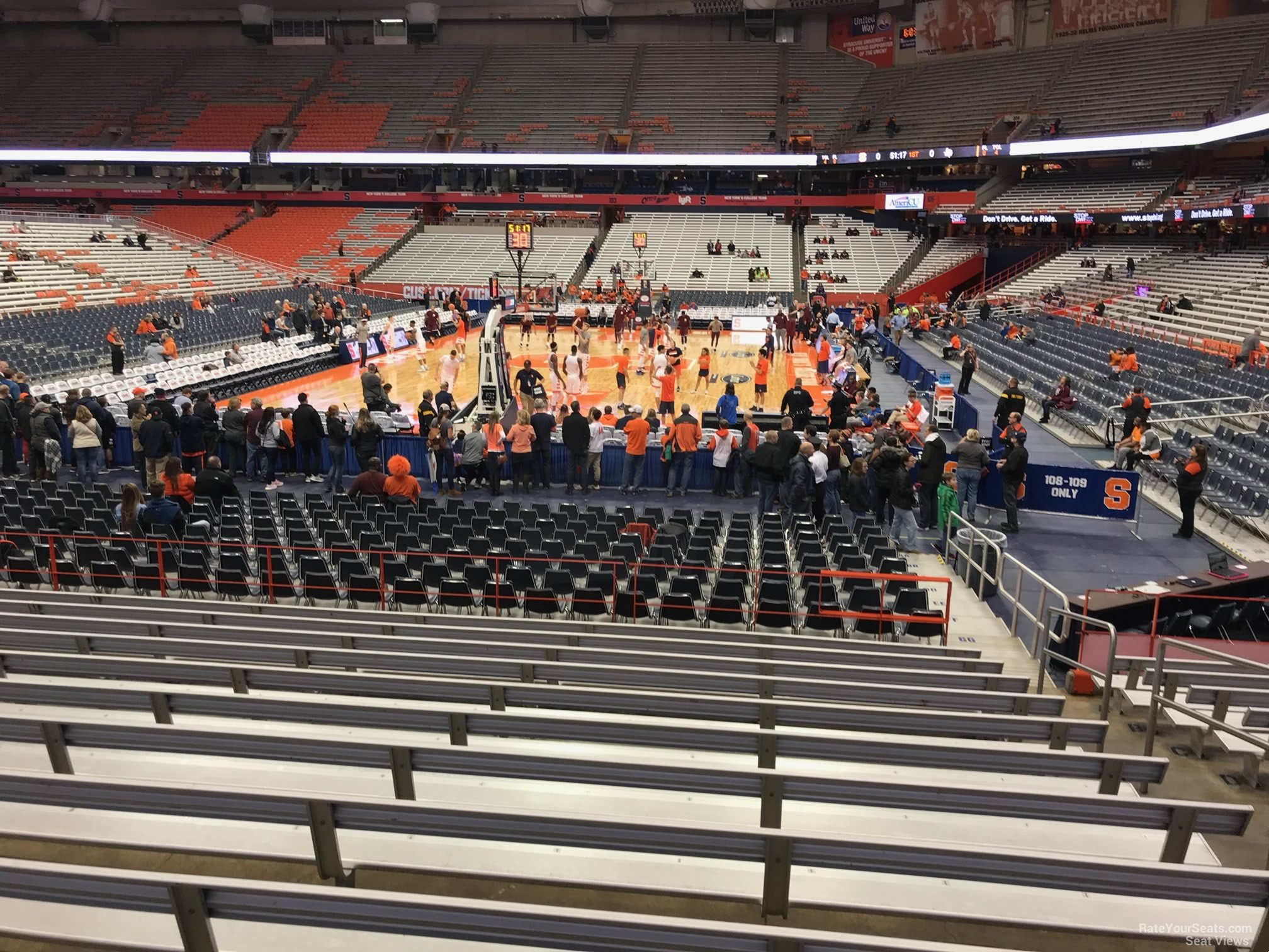 Carrier Dome Section 113 - Syracuse Basketball ...