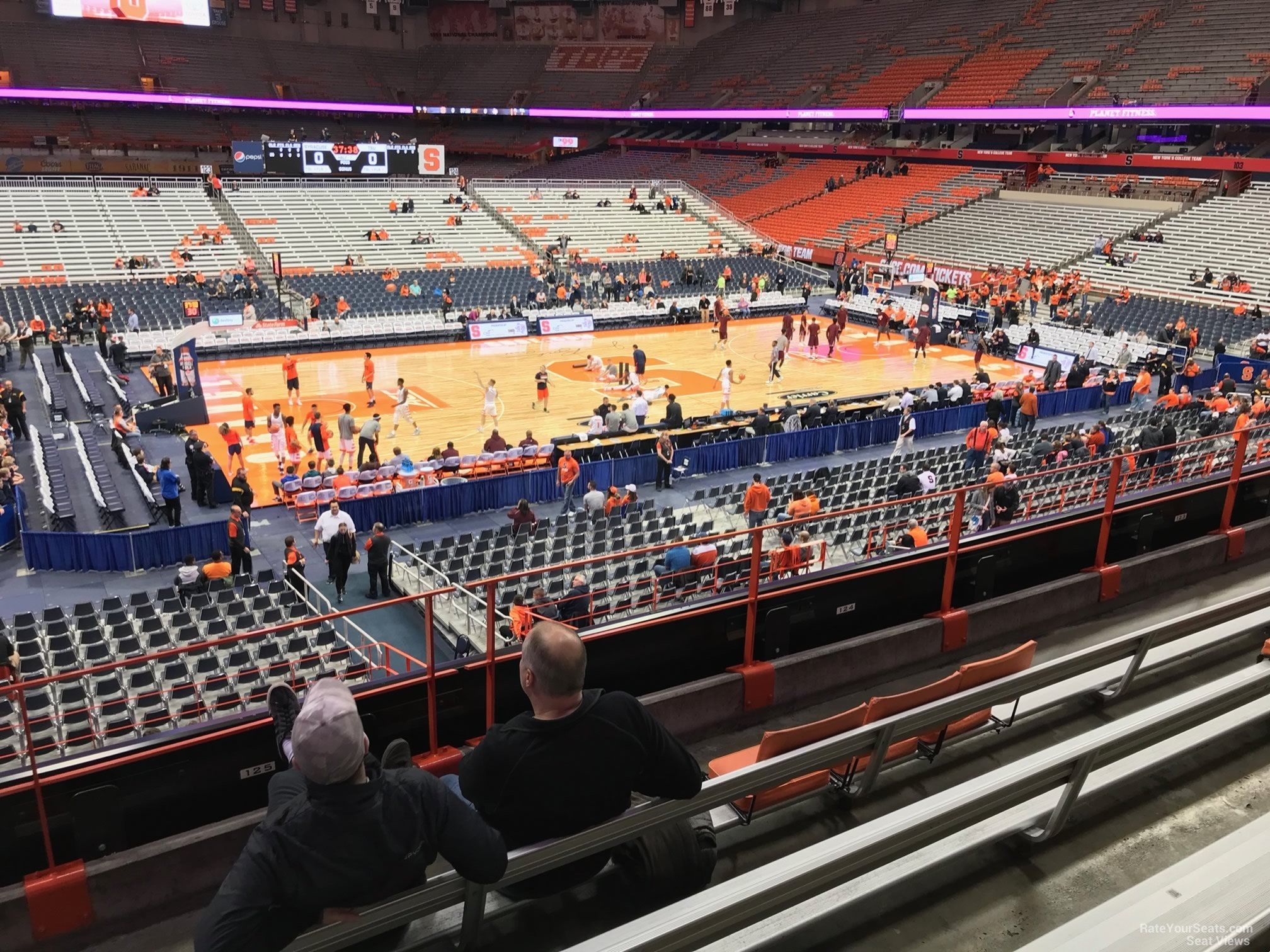 Syracuse Orange Seat View For Carrier Dome Section 213 Row F