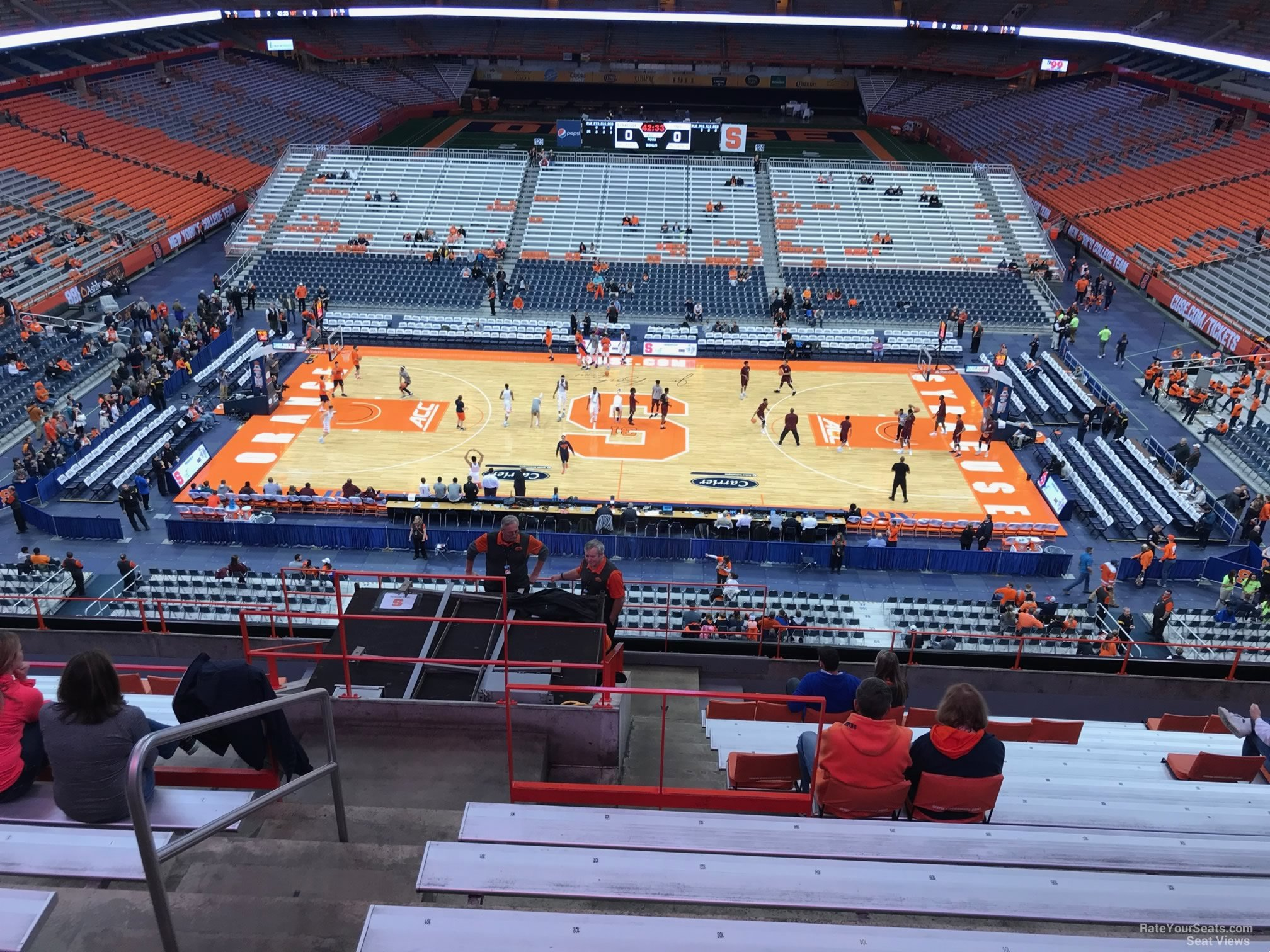 Carrier Dome Section 310 Syracuse Basketball Rateyourseats Com