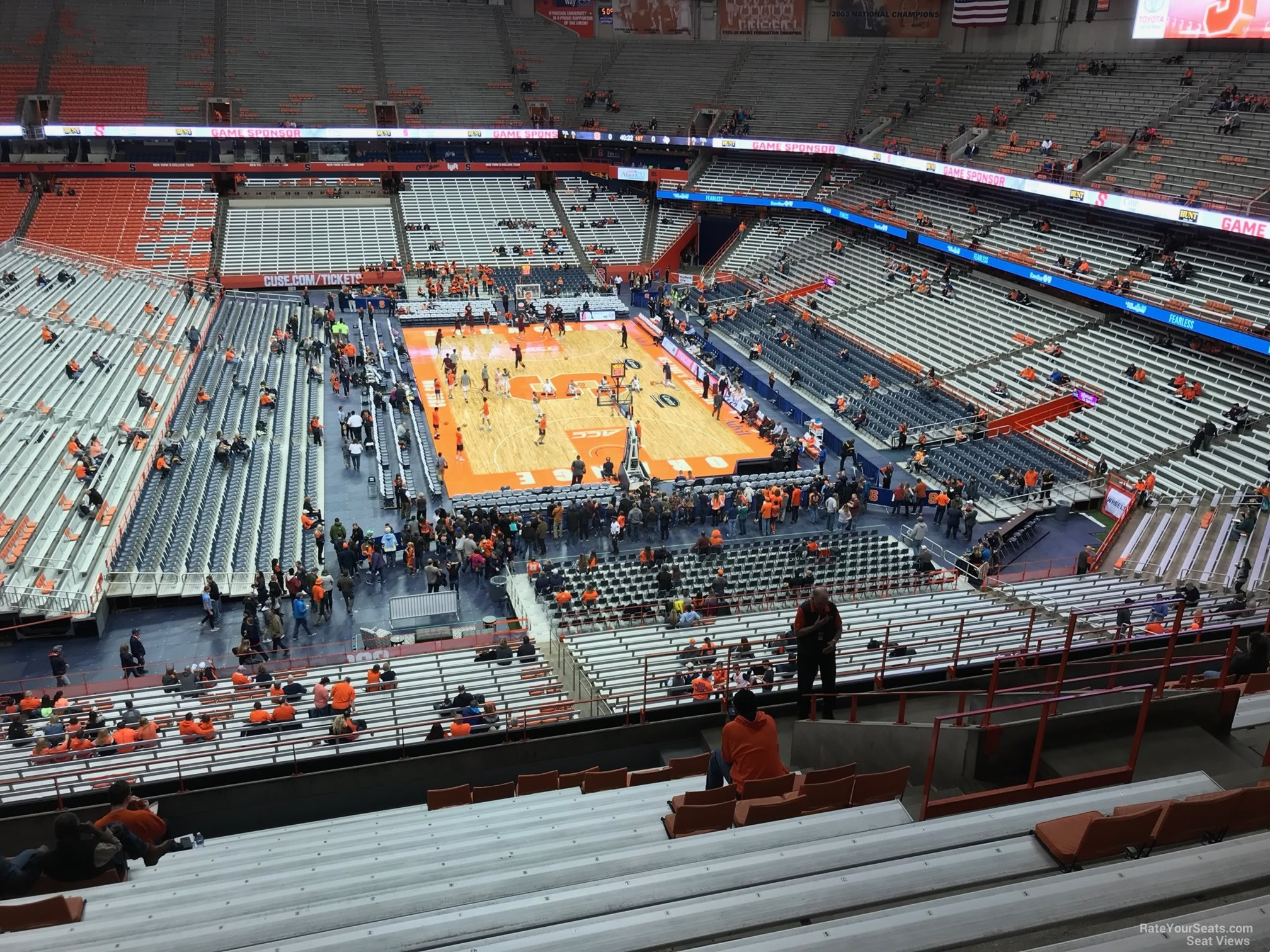 Section 317 seat view