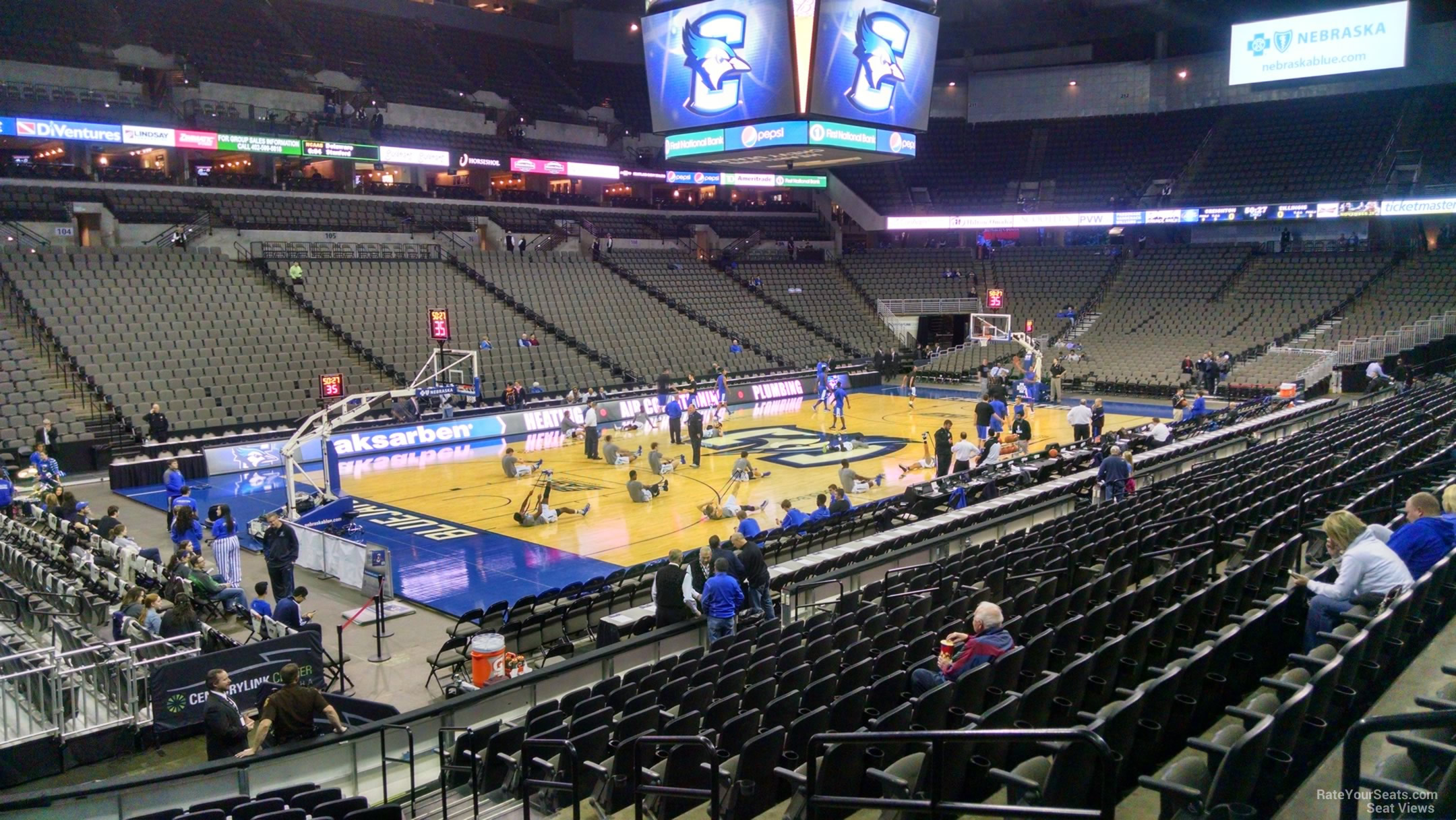 CenturyLink Center Section 125 - Creighton Basketball ... on landers center seating map, smoothie king center seating map, verizon center seating map, consol energy center seating map, santa ana star center seating map, centurylink arena seating chart, centurylink center concert, target center seating map, centurylink omaha seating-chart, bethel woods center for the arts seating map, scottrade center seating map, sears center seating map, united center seating map, cintas center seating map, centurylink field 3d seating chart, centurylink center concessions, ford center seating map, columbus civic center seating map, bb&t center seating map, mccarthey athletic center seating map,