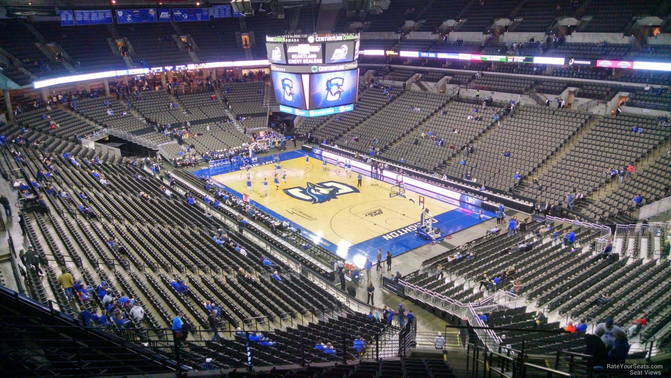Centurylink Center Omaha >> Chi Health Center Omaha Section 216 Creighton Basketball