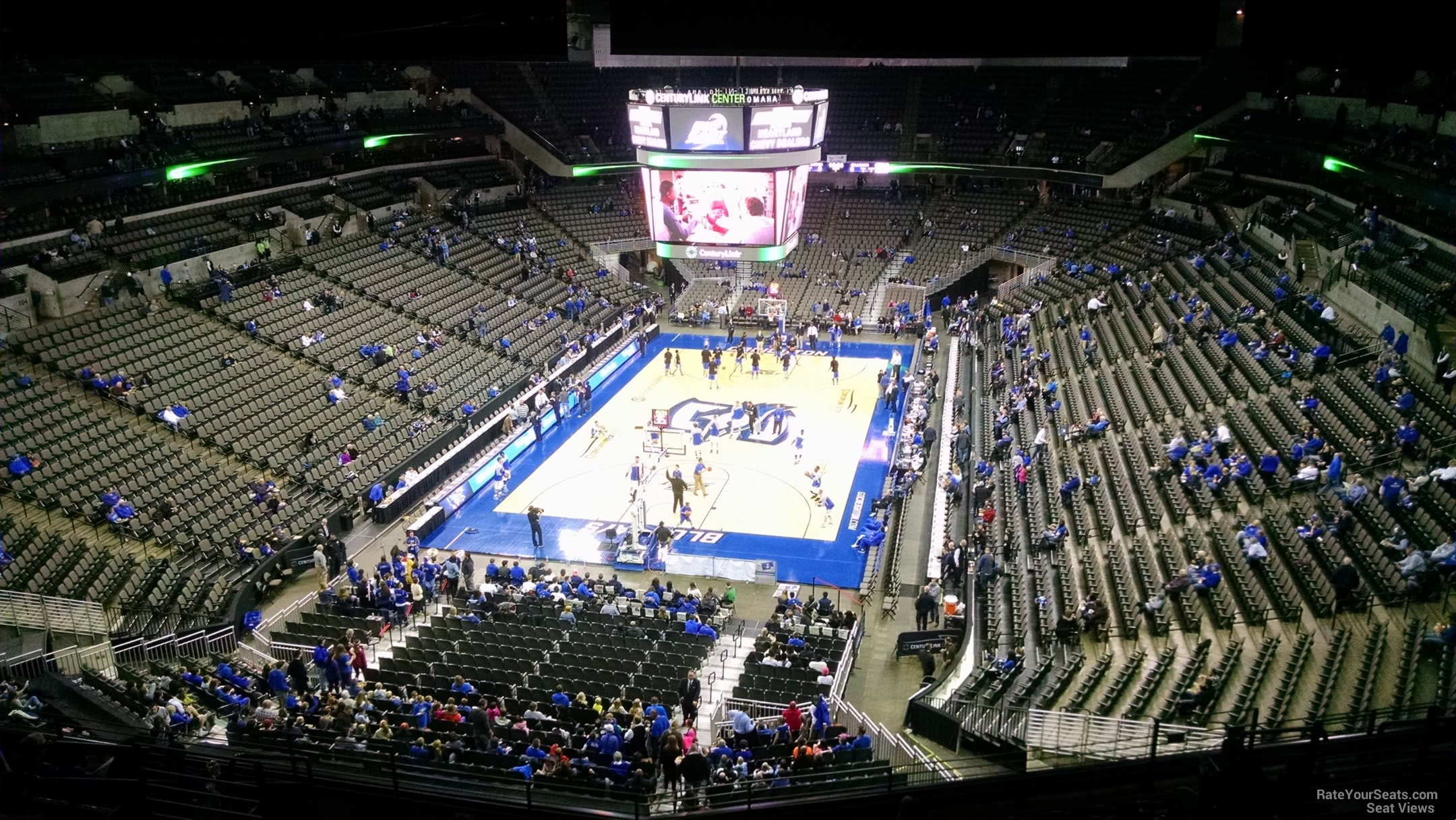 Chi health center omaha section 228 creighton basketball