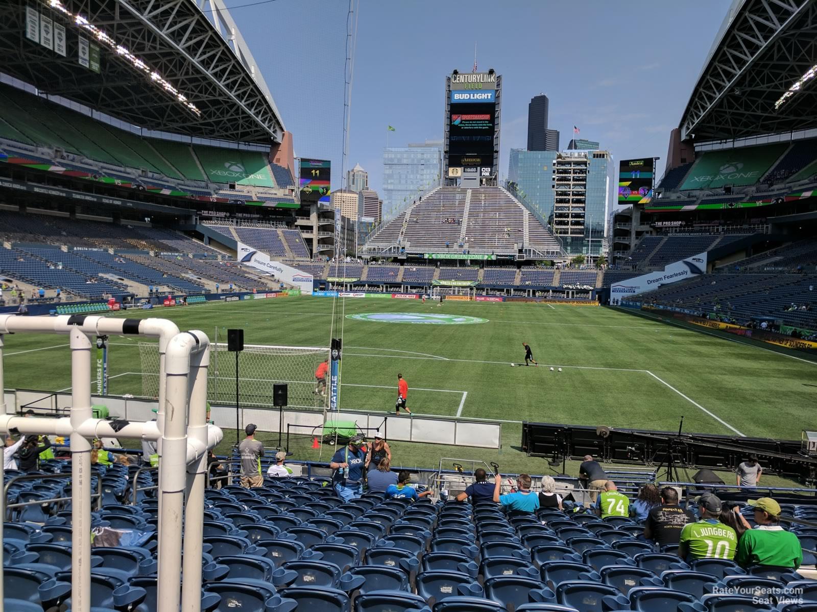 Centurylink Field Section 121 Seattle Sounders Fc