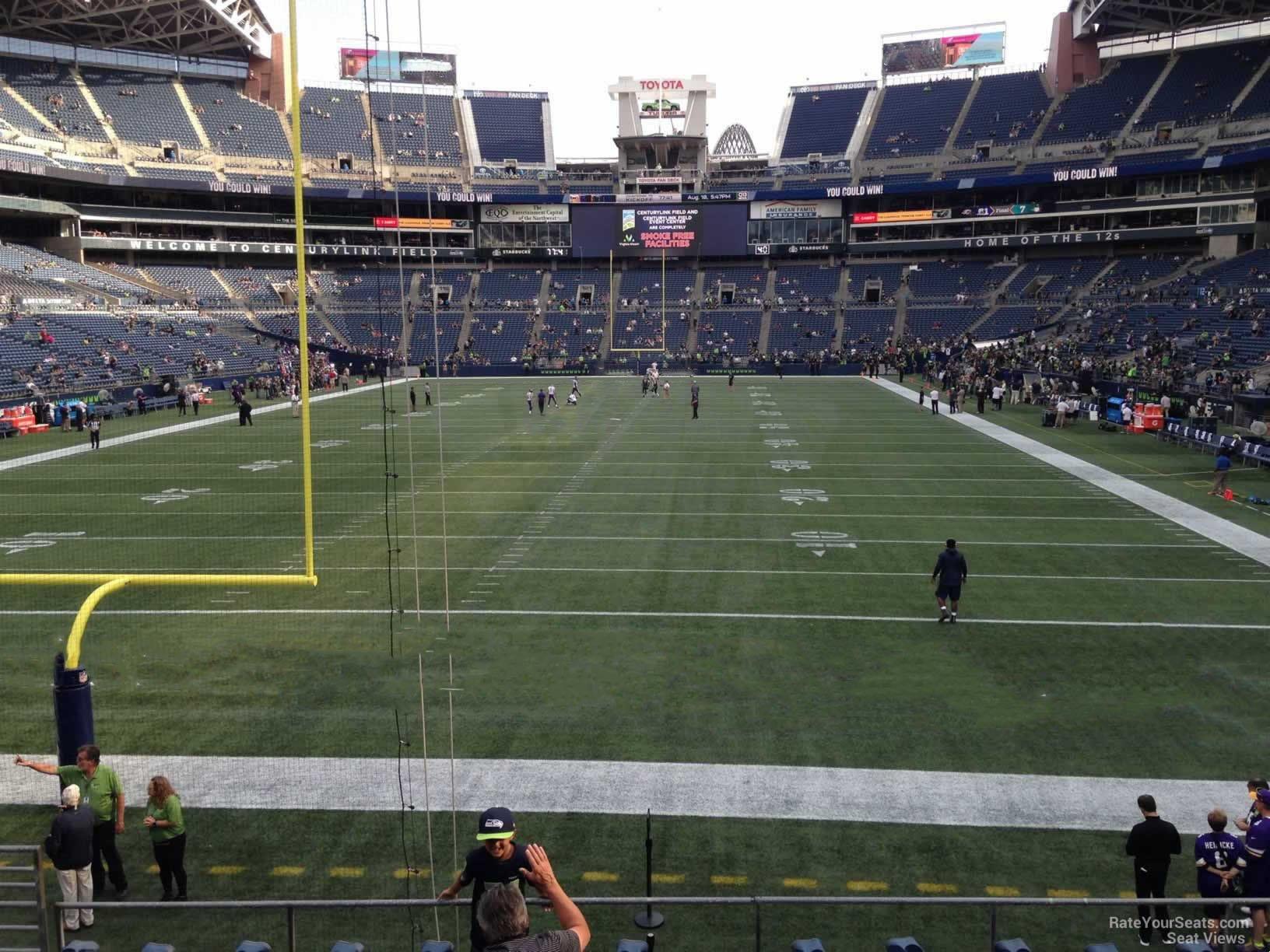 Centurylink Field Section 147 Seattle Seahawks Rateyourseatscom