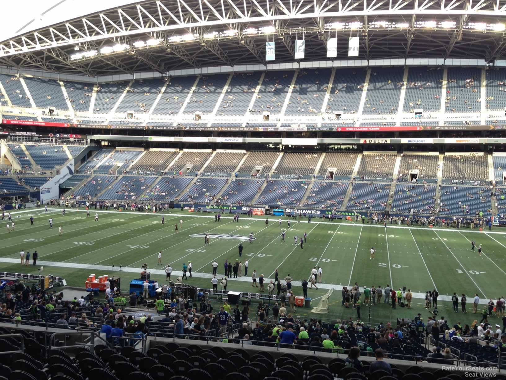 Seahawks Club Level Seats
