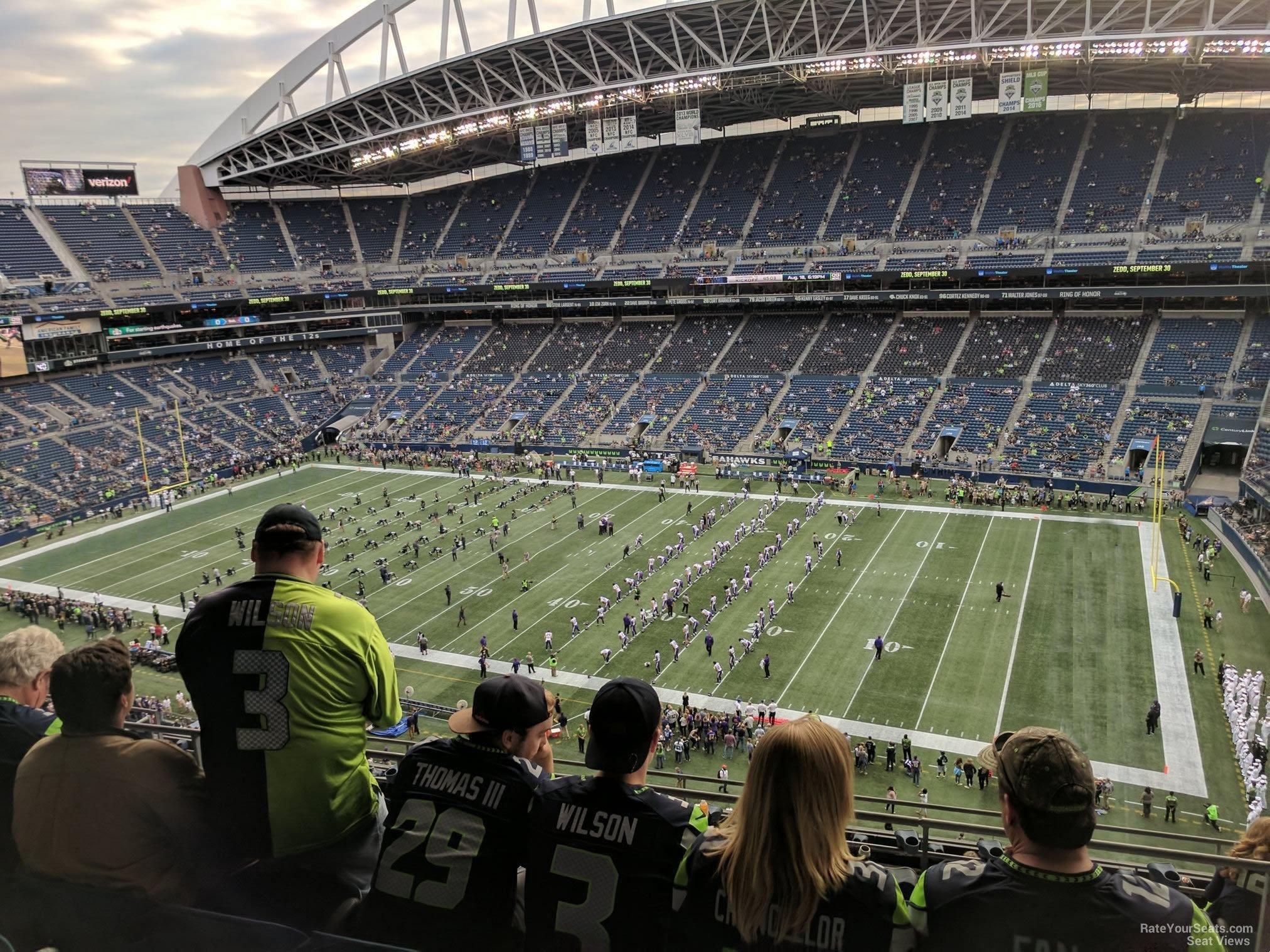 Centurylink Field Section 305 Seattle Seahawks Rateyourseatscom