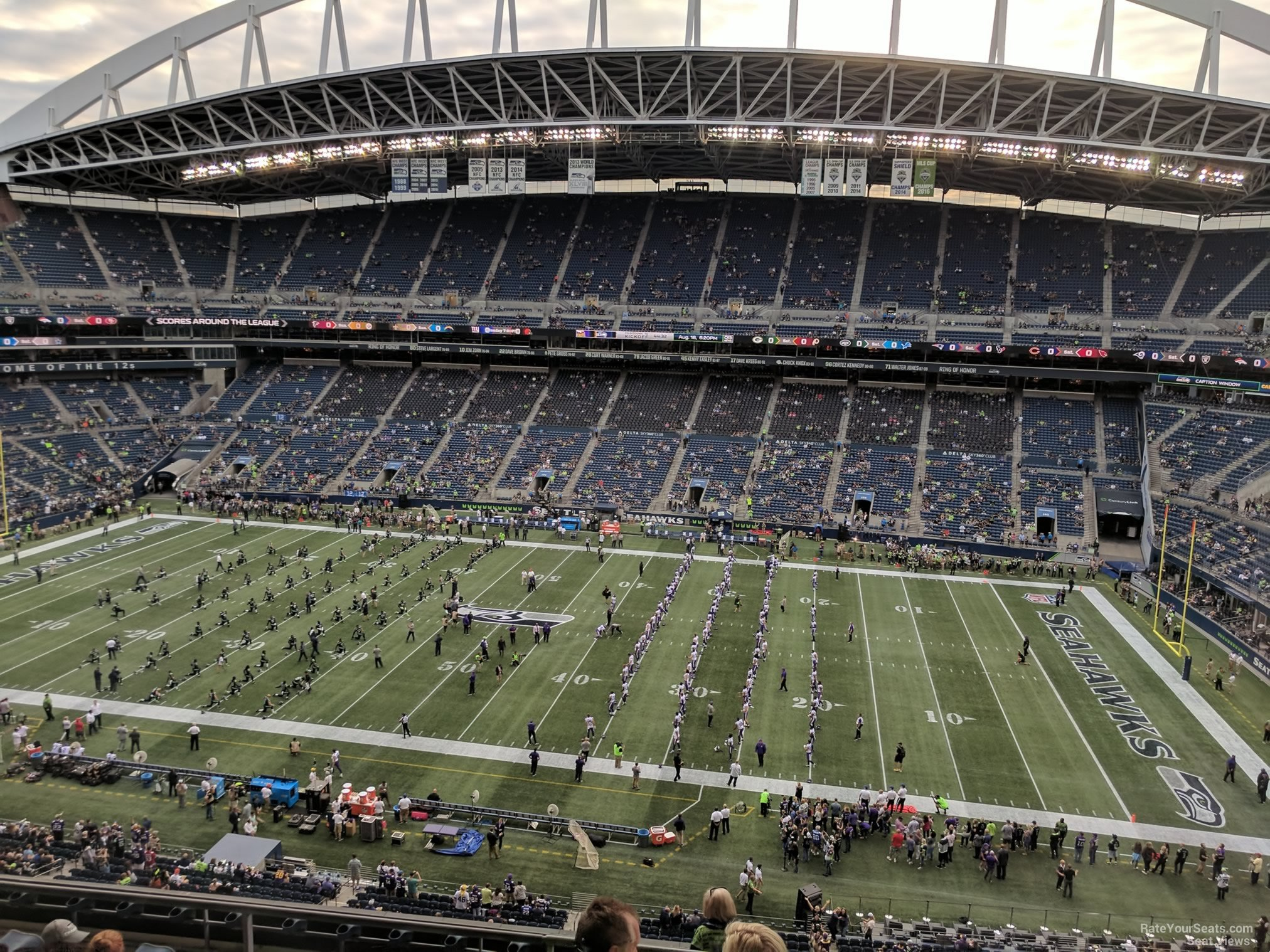Seattle Seahawks Seat View for CenturyLink Field Section 307, Row G