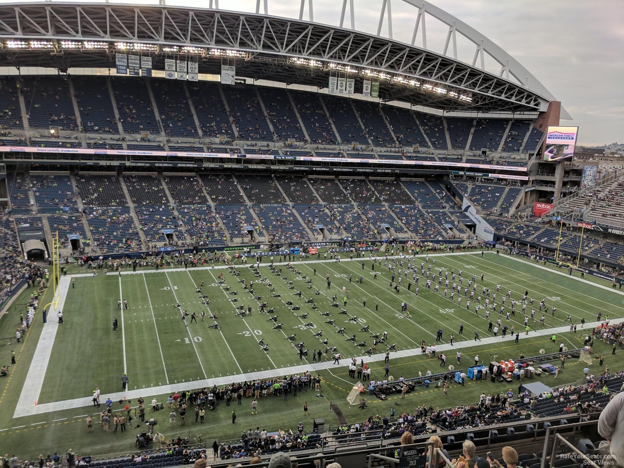 Centurylink Field Section 313 Seattle Seahawks