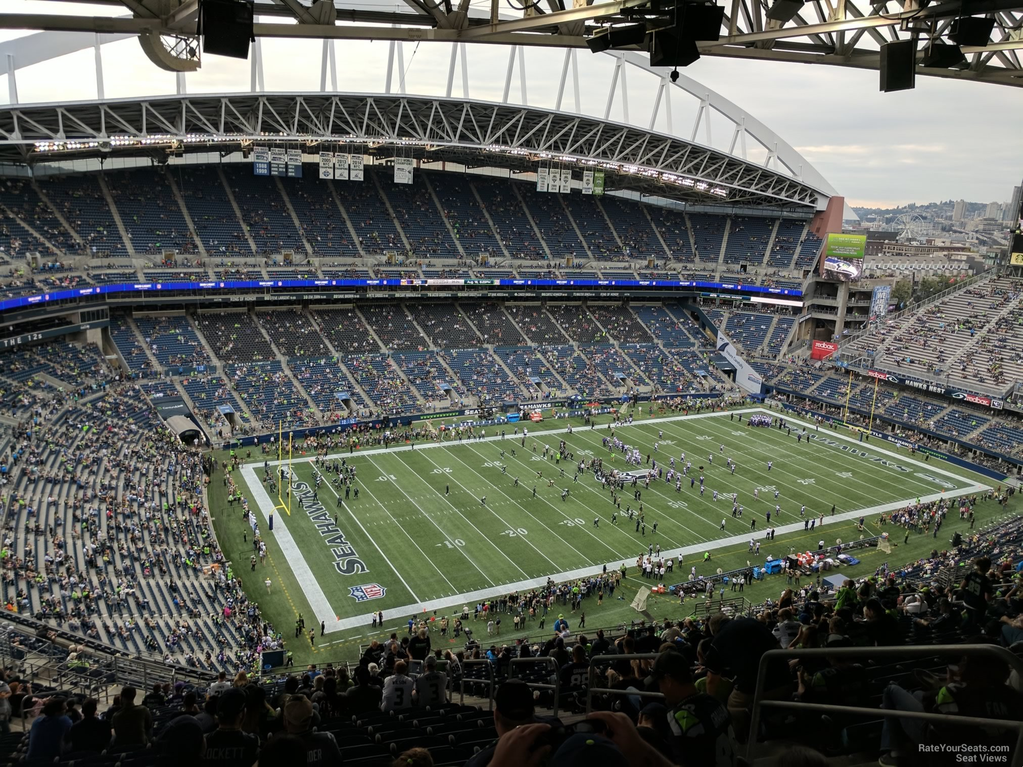 Century Link Stadium Map on