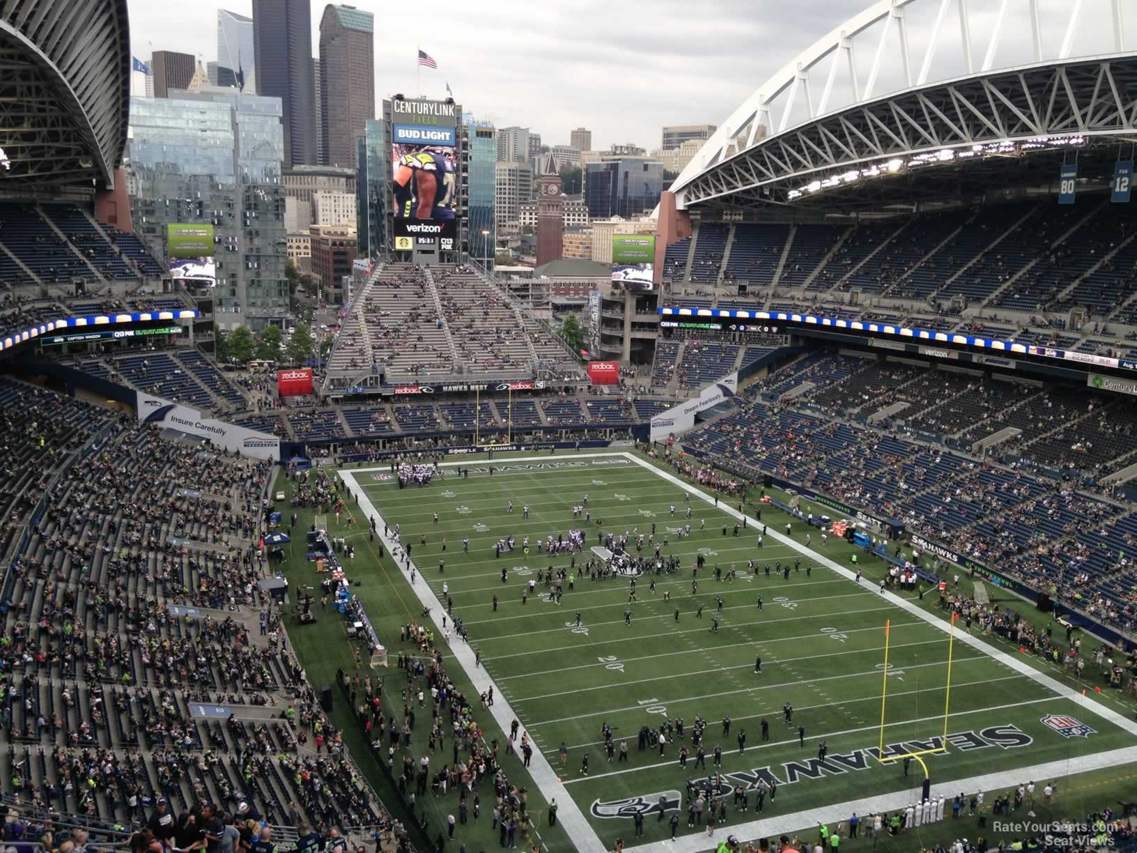 Seattle Seahawks Seat View for CenturyLink Field Section 326