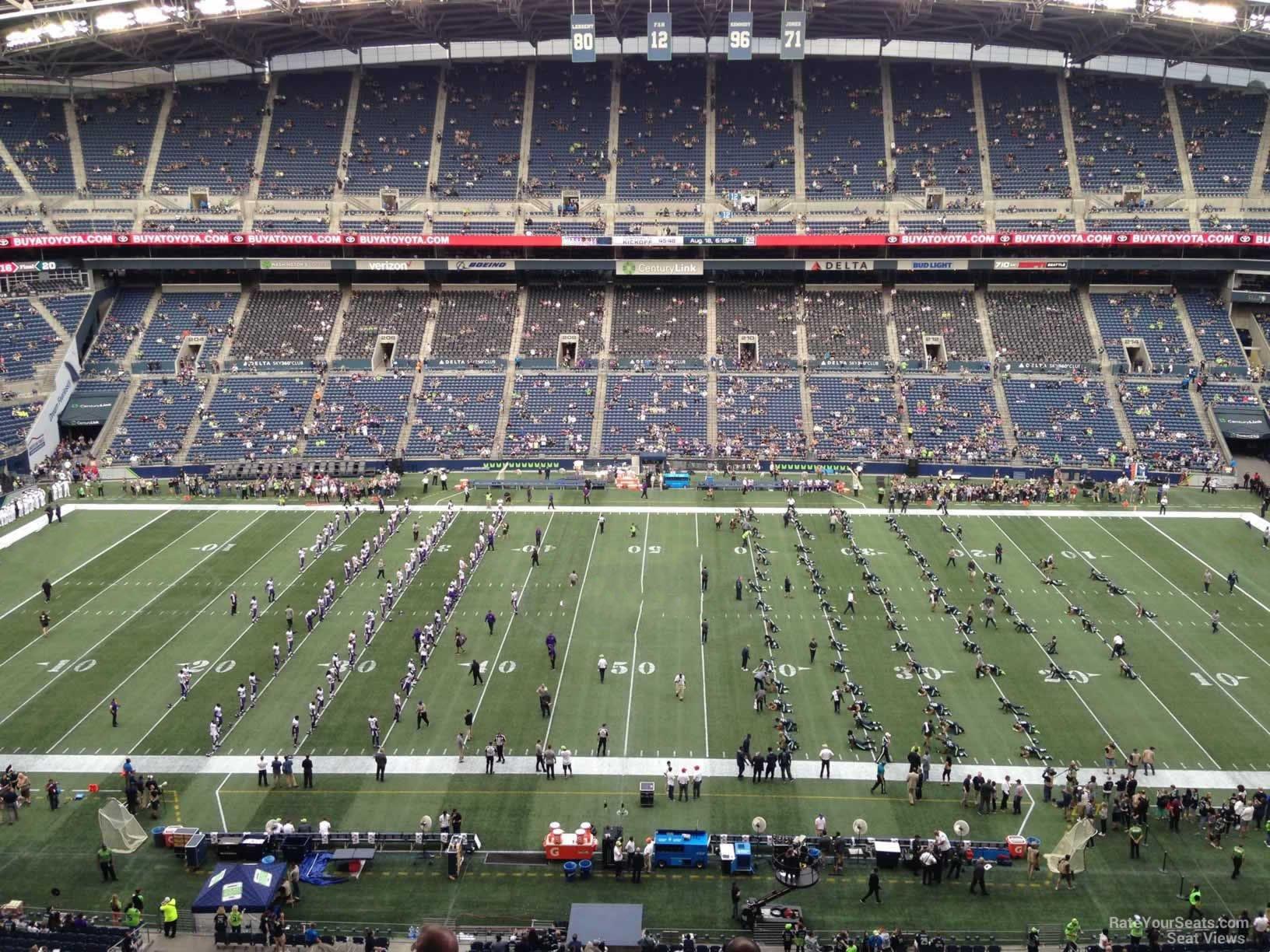 Centurylink Field Section 335 Seattle Seahawks